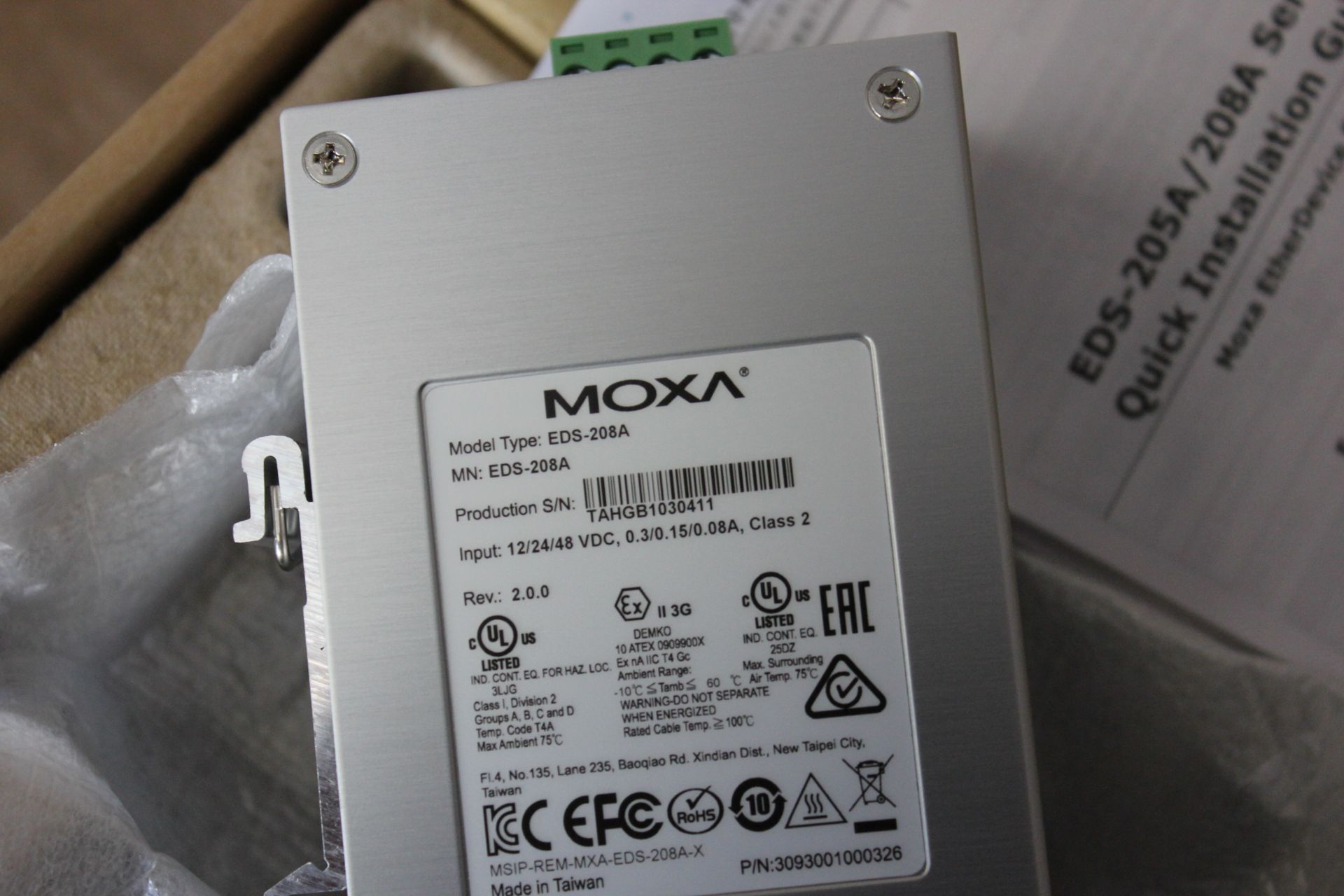 NEW MOXA INDUSTRIAL ETHERNET SWITCH - Image 5 of 5