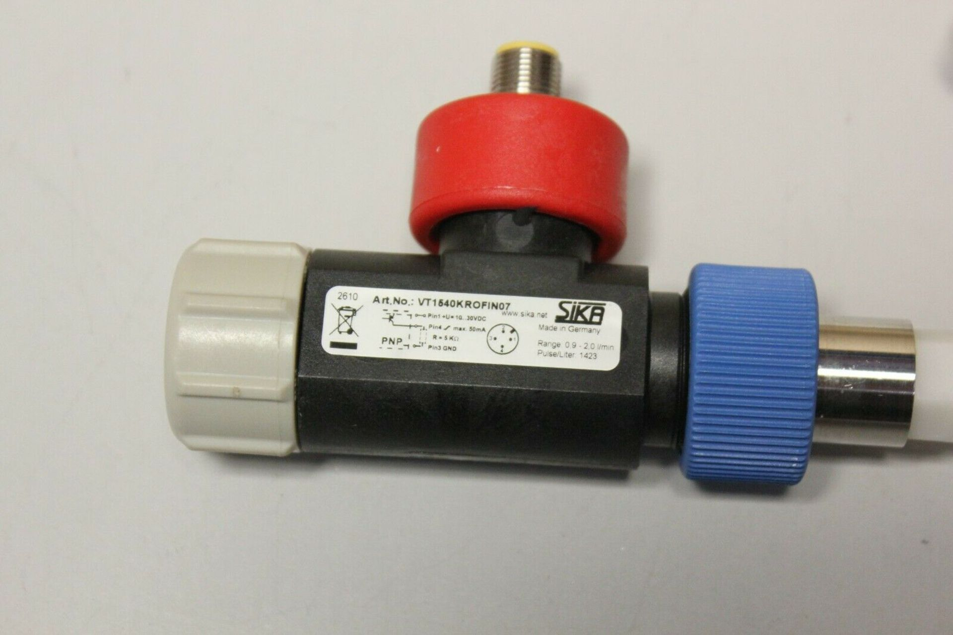 SIKA TURBINE FLOW SENSOR WITH CABLE - Image 3 of 10