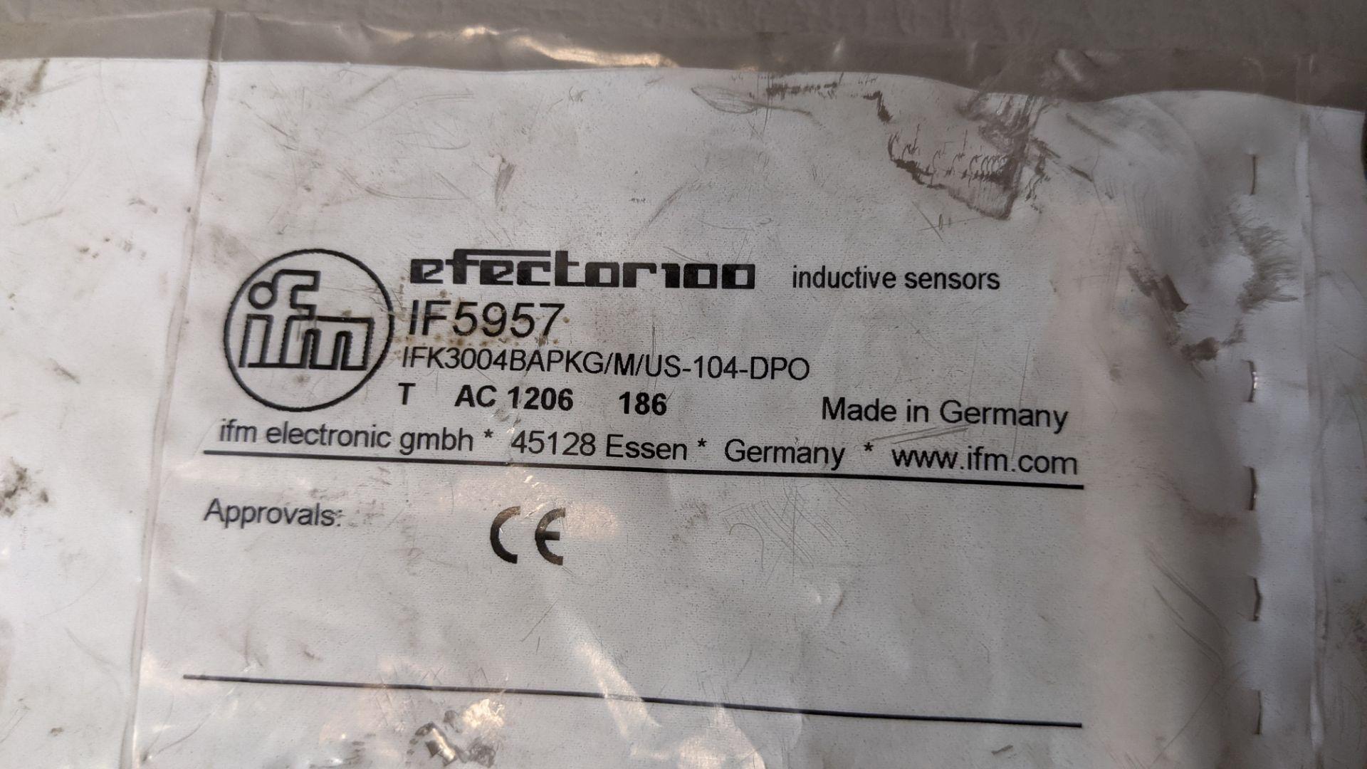 NEW IFM EFECTOR PROXIMITY SENSOR - Image 2 of 2
