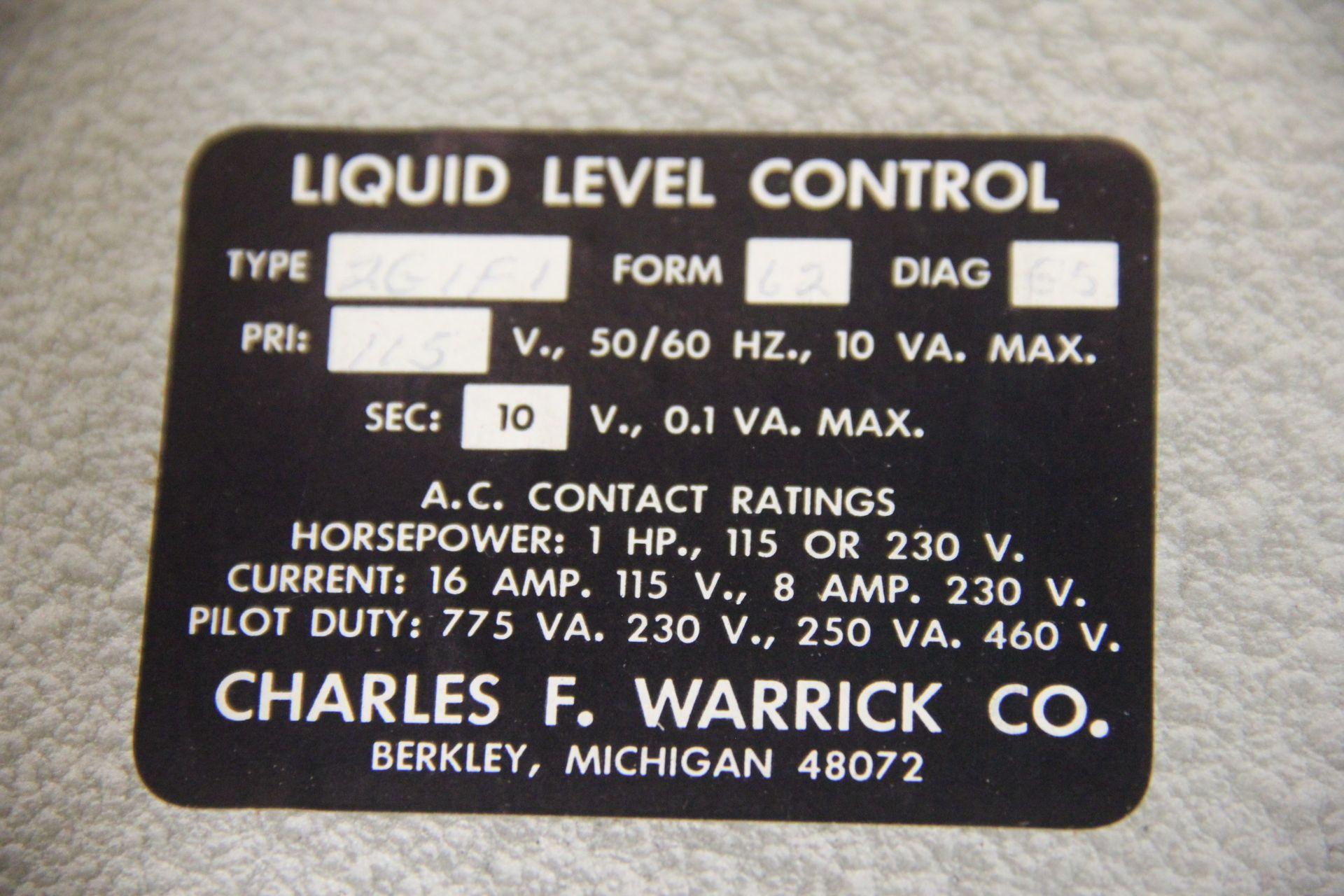 NEW WARRICK LIQUID LEVEL CONTROL - Image 3 of 3