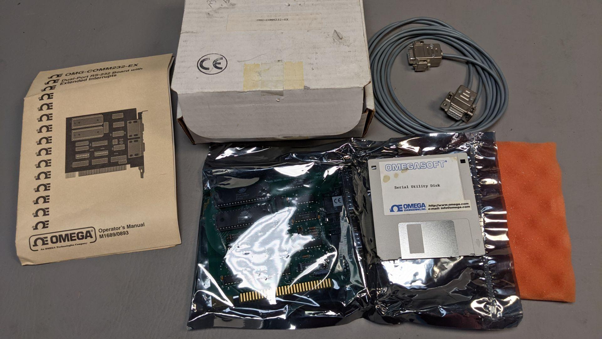 OMEGA DUAL PORT RS-232 INTERFACE CARD