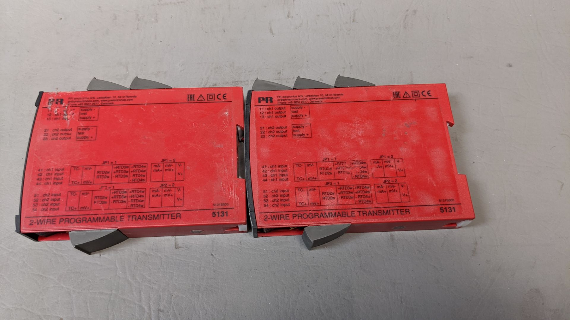LOT OF PR 2 WIRE PROGRAMMABLE TRANSMITTERS - Image 2 of 2