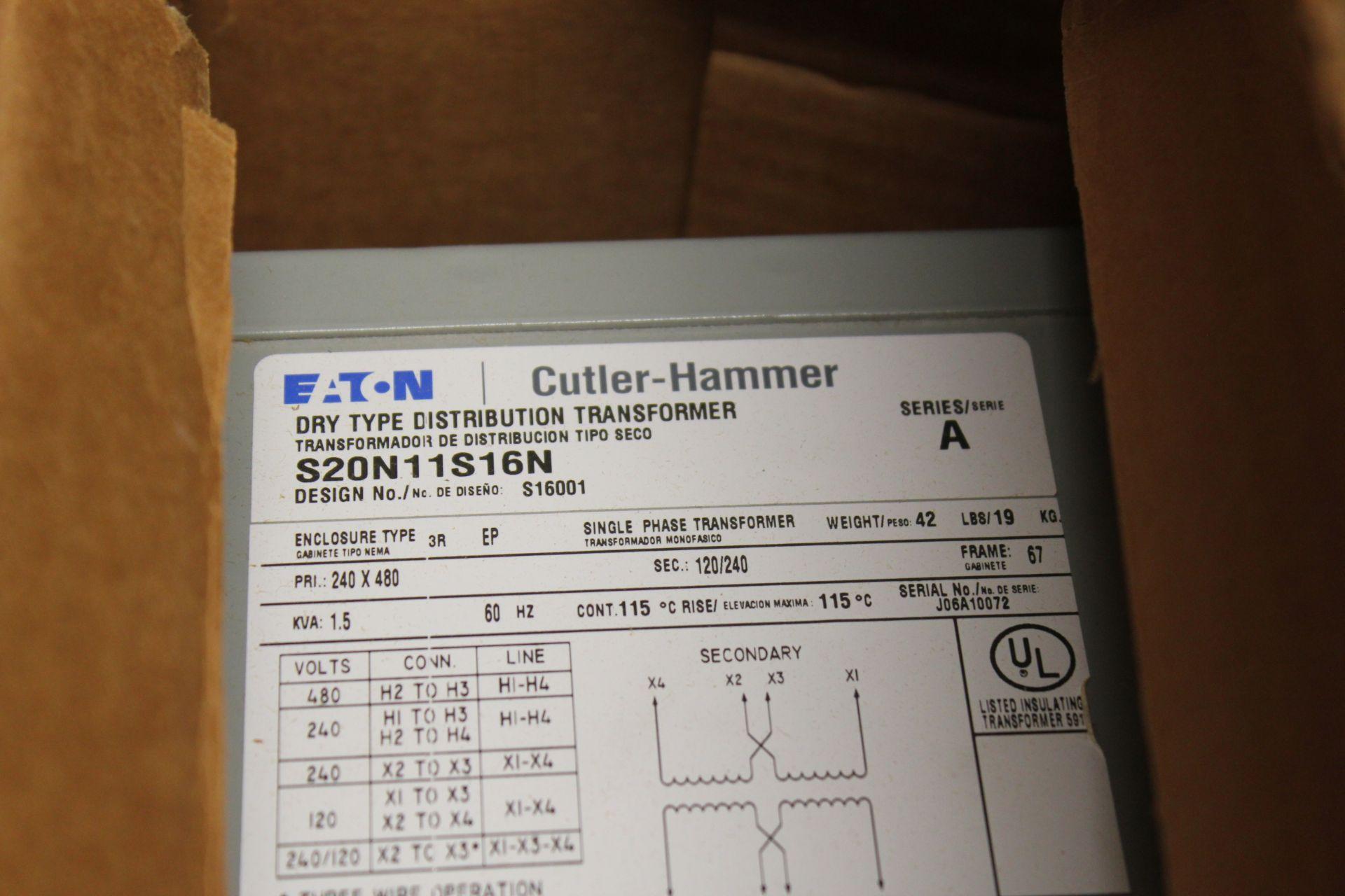 NEW EATON DISTRIBUTION TRANSFORMER - Image 2 of 3