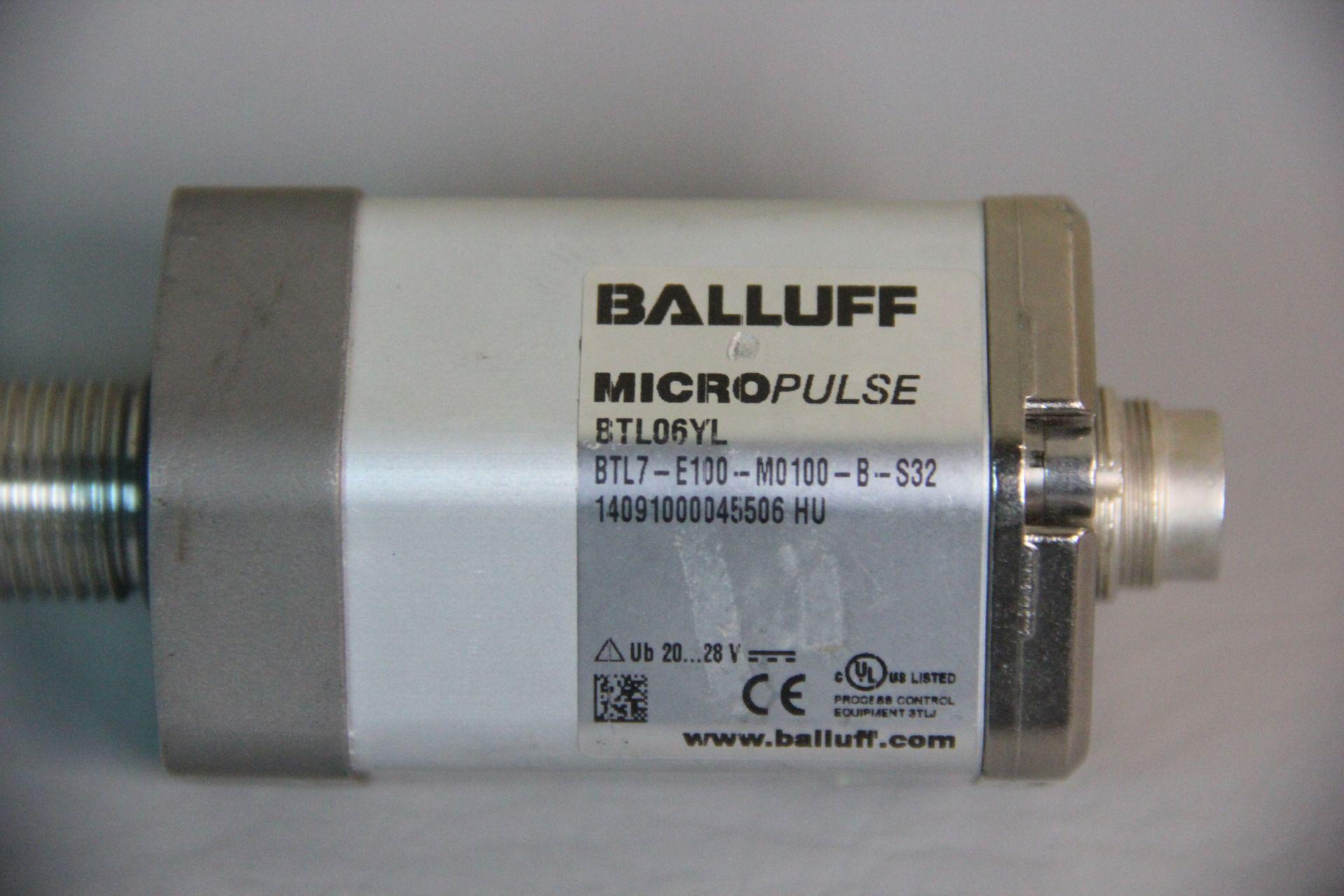 BALLUFF MICROPULSE MAGNETOSTRICTIVE LINEAR POSITION SENSOR - Image 2 of 4