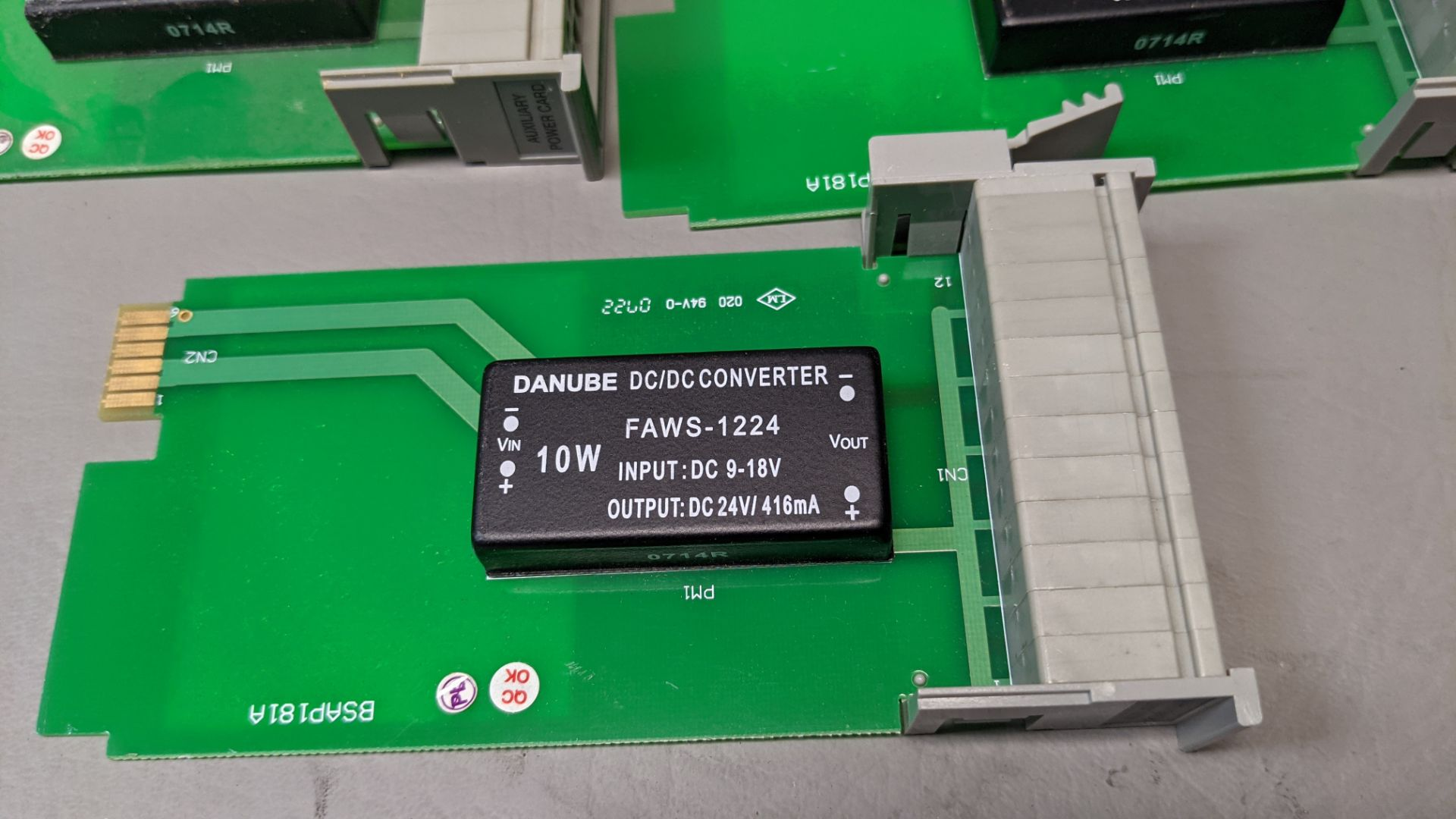 LOT OF FUTURE DESIGN CONTROLS CHART RECORDER INTERFACE MODULES - Image 2 of 4