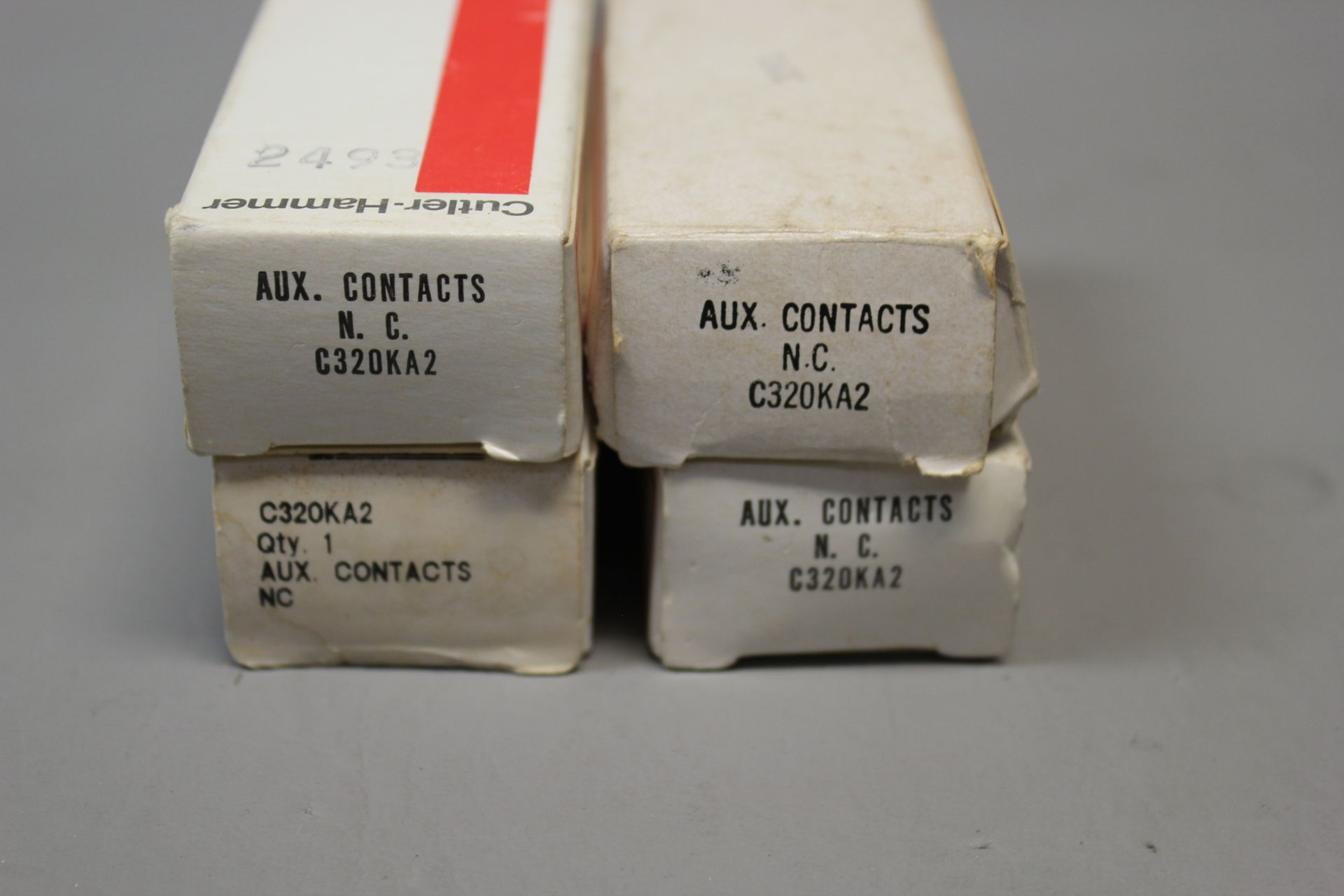 LOT OF NEW CUTLER HAMMER AUXILIARY CONTACTS - Image 2 of 2