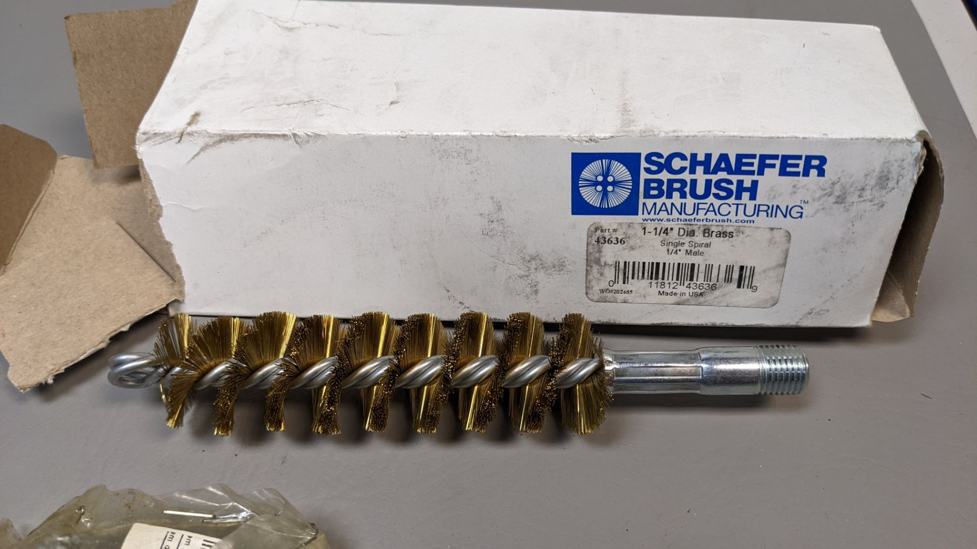 LOT OF NEW PIPE/TUBE METAL BRUSHES - Image 3 of 3