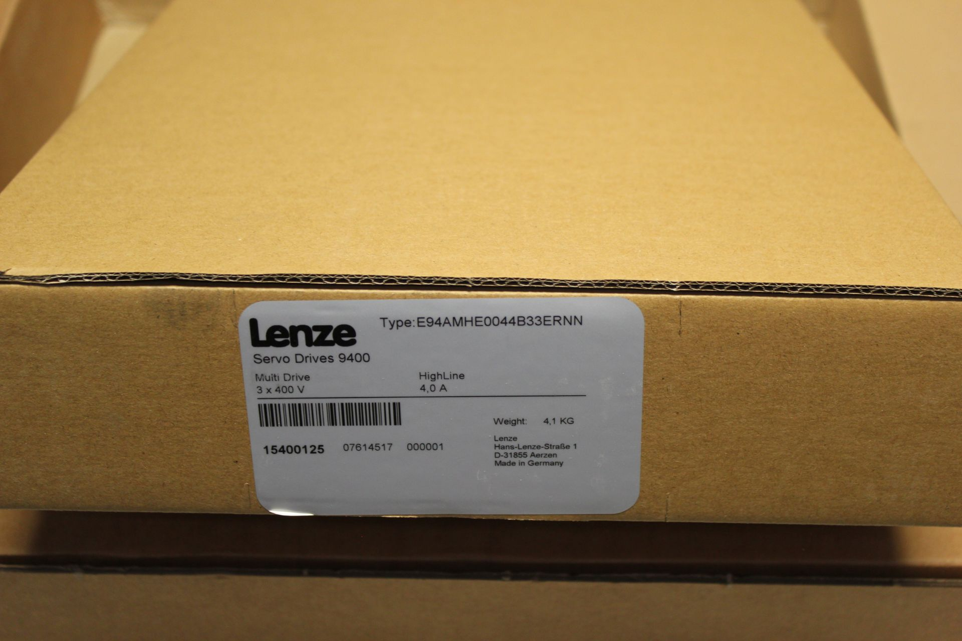 NEW LENZE MULTI DRIVE 9400 SERVO DRIVE WITH BACKPLANE - Image 7 of 11
