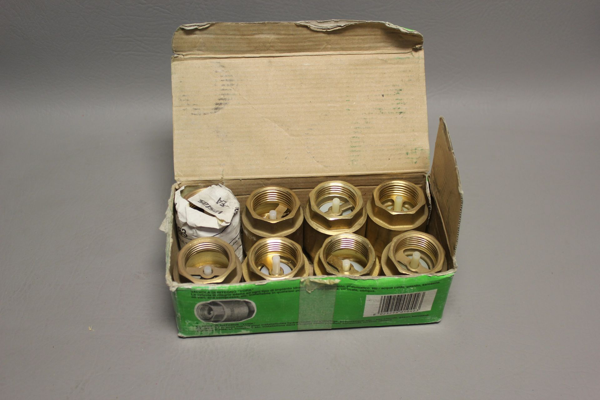 """LOT OF NEW 1"""" CHECK VALVES - Image 2 of 4"""