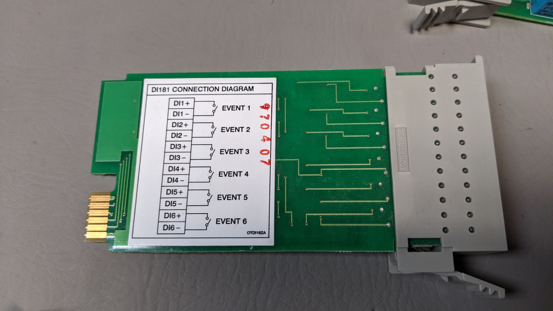 LOT OF FUTURE DESIGN CONTROLS CHART RECORDER INTERFACE MODULES - Image 8 of 9