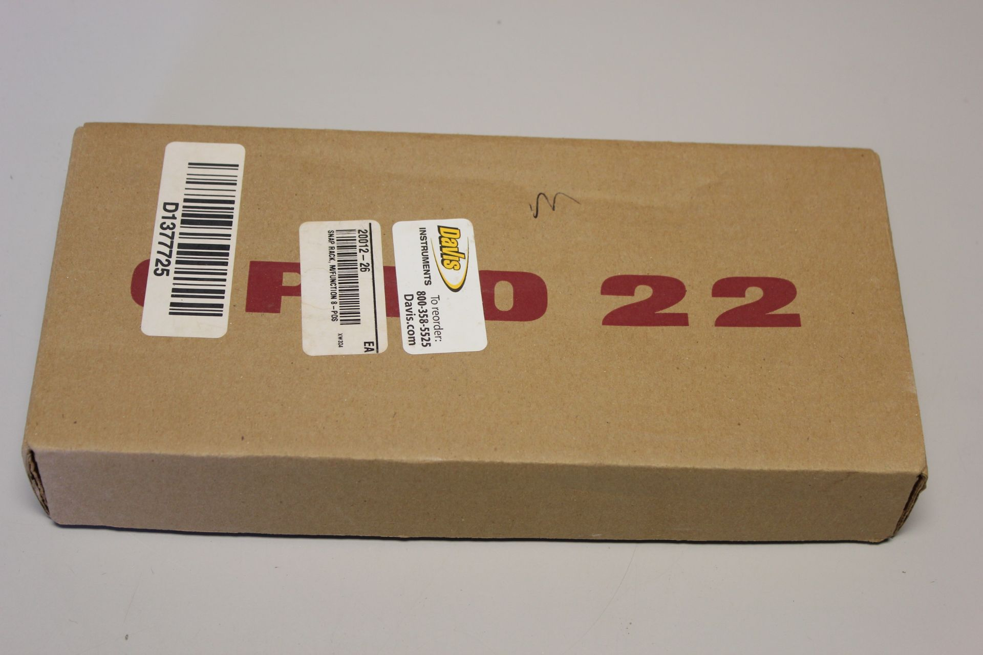 NEW OPTO 22 8 POSITION SNAP PAC RACK
