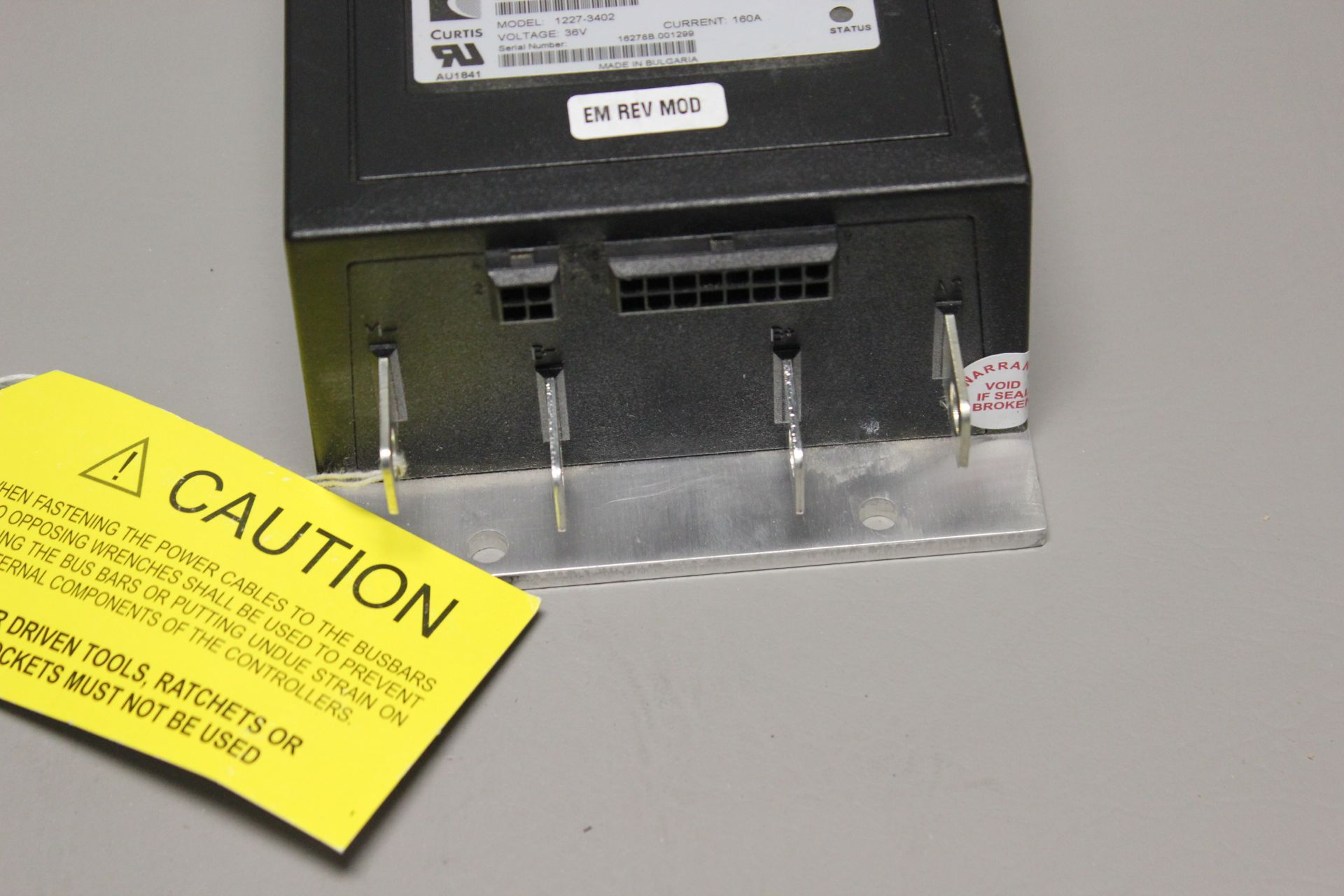 UNUSED CURTIS DC MOTOR CONTROLLER - Image 3 of 4