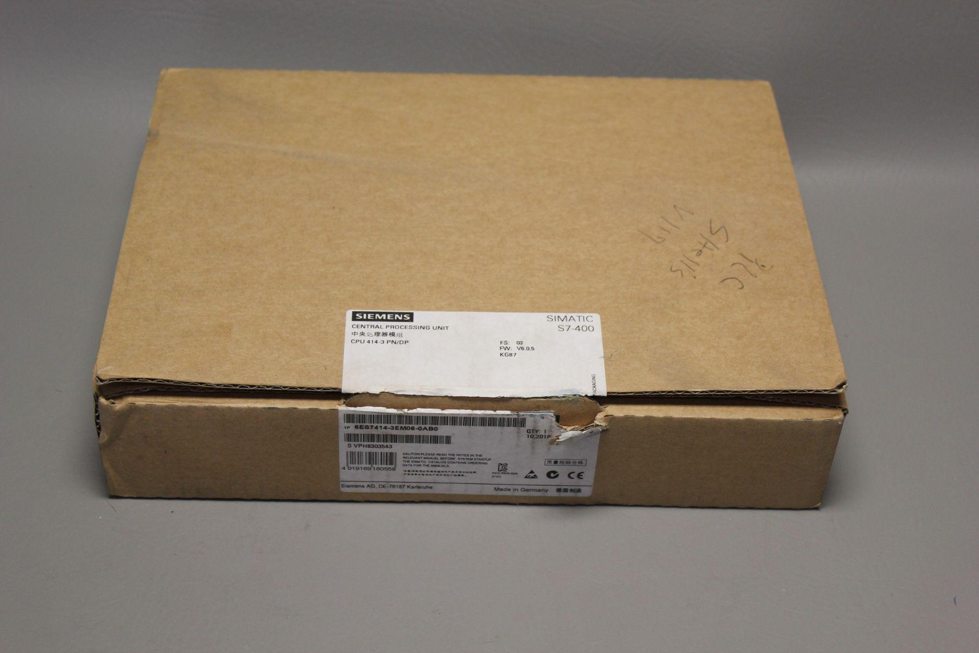 NEW SIEMENS SIMATIC S7-400 PLC CPU PROCESSOR
