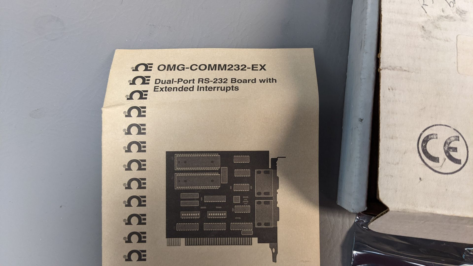 OMEGA DUAL PORT RS-232 INTERFACE CARD - Image 4 of 4