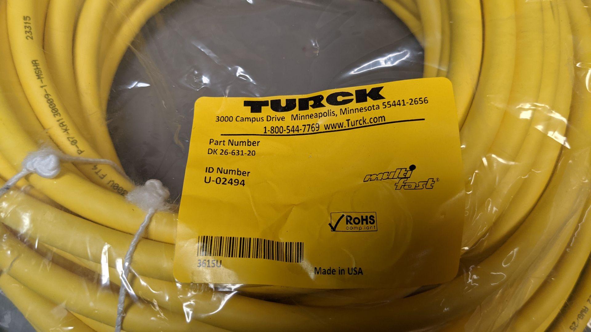 NEW TURCK SENSOR CABLE - Image 2 of 2