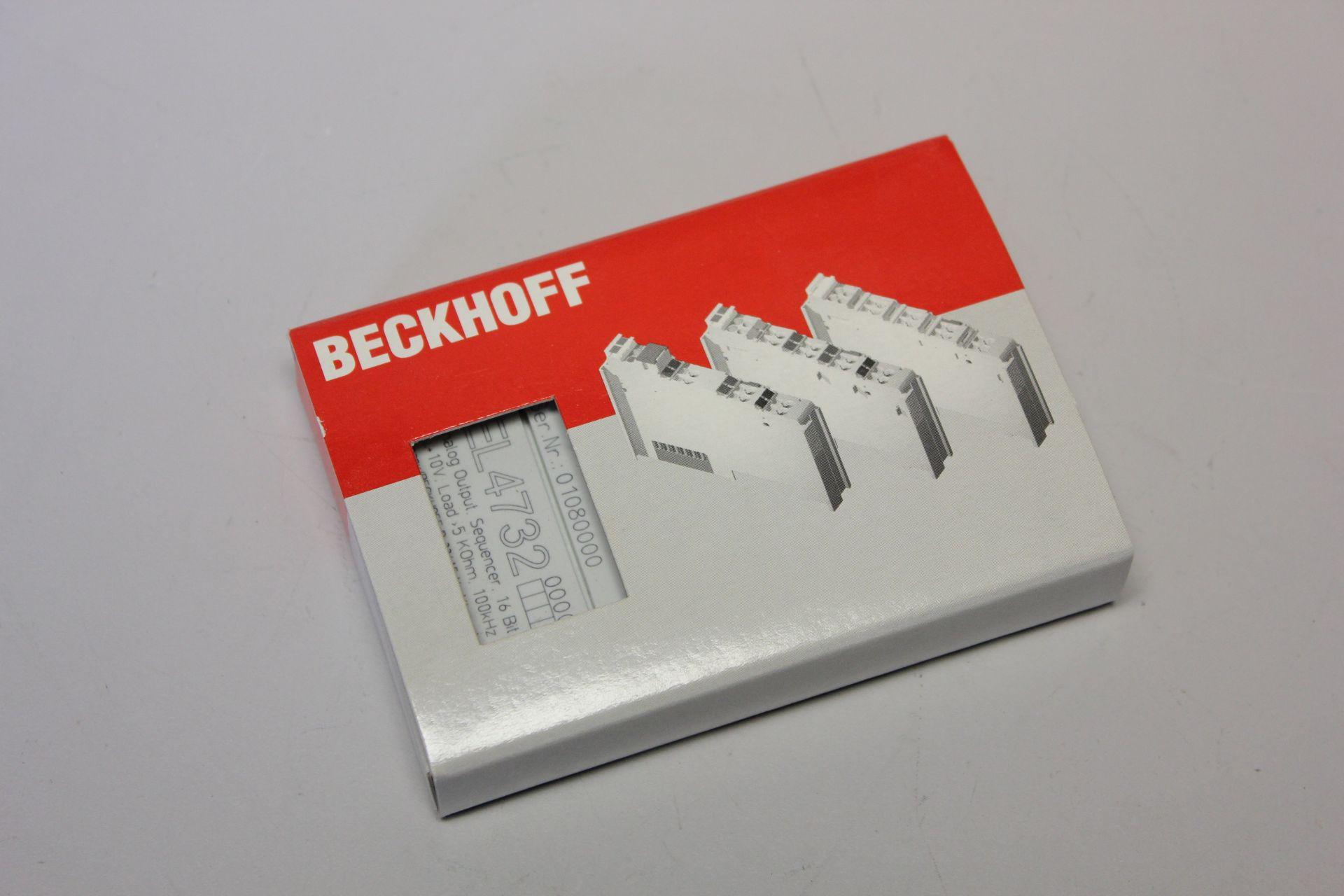 NEW BECKHOFF I/O MODULE