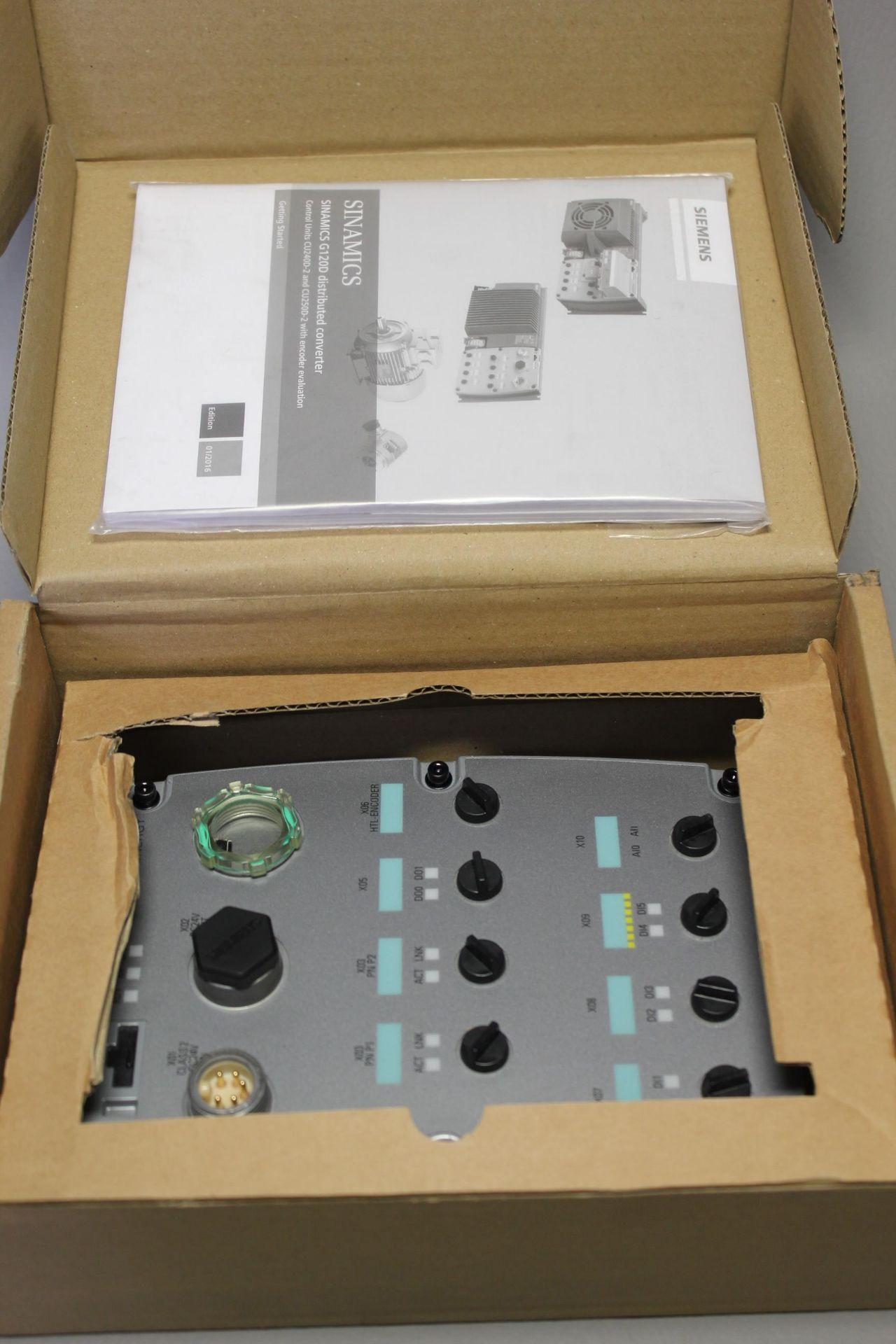 NEW SIEMENS G120D CONTROL UNIT - Image 3 of 6