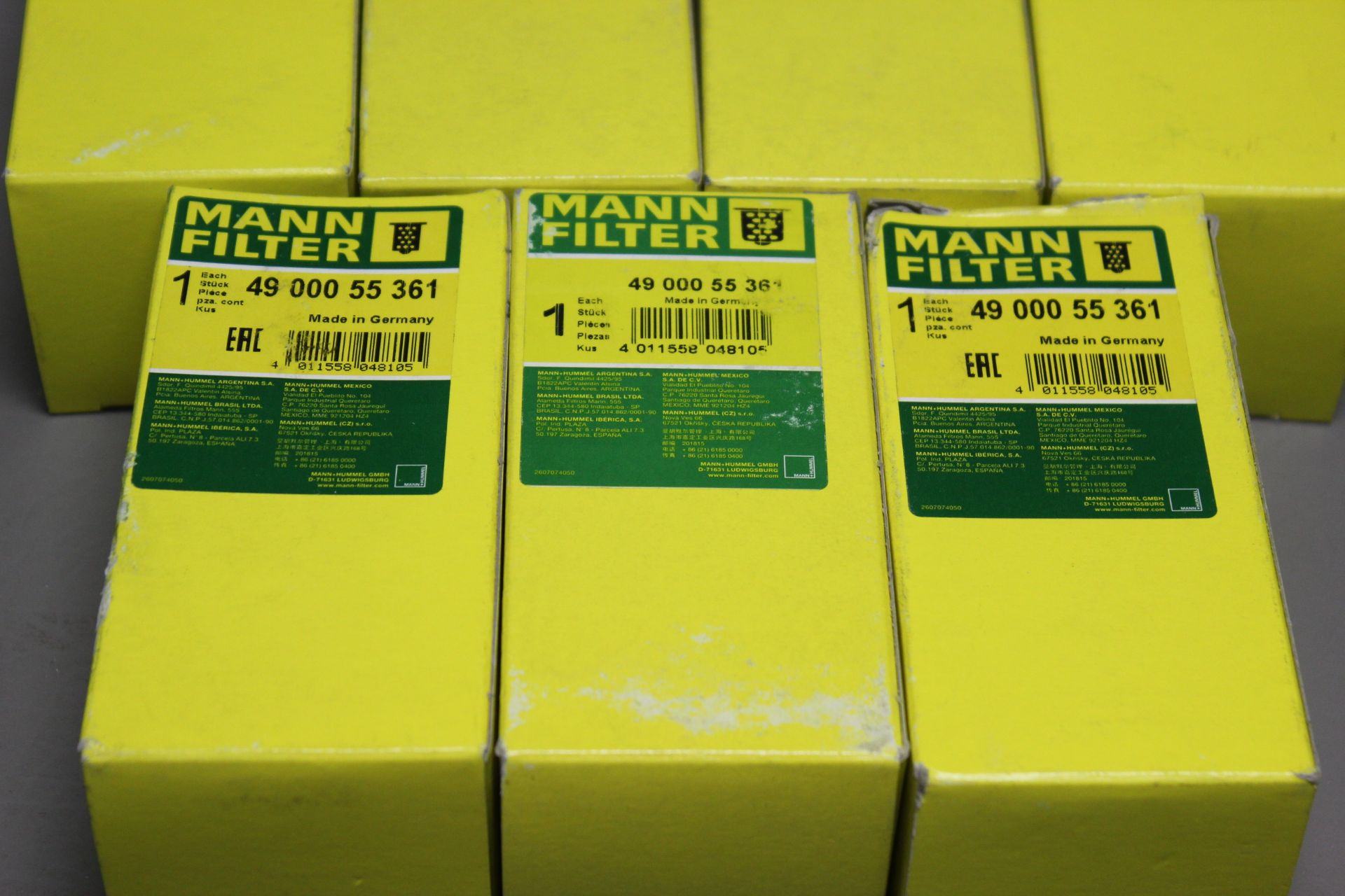 LOT OF NEW MANN INDUSTRIAL FILTERS - Image 2 of 3