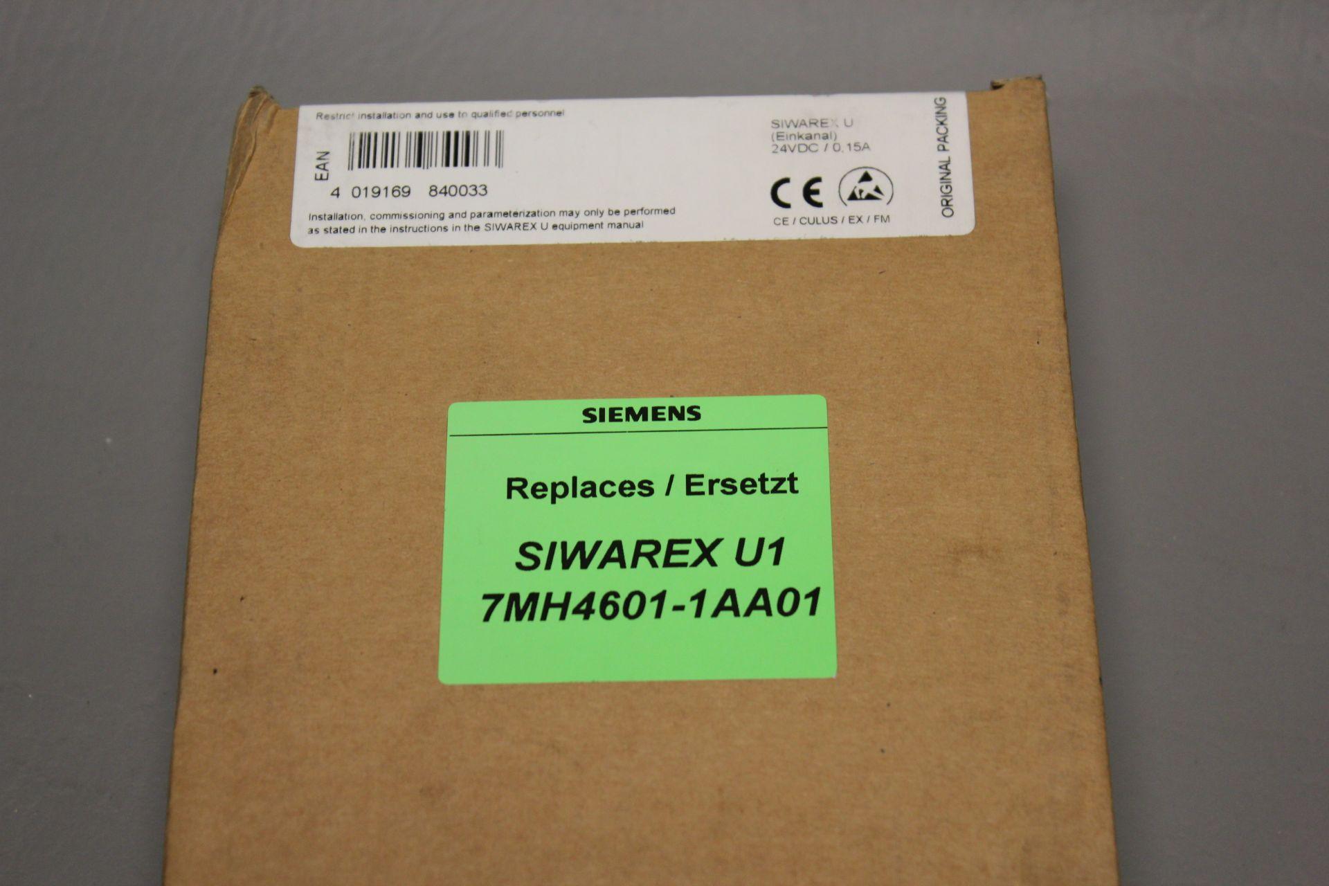 NEW SIEMENS SIWAREX U WEIGHING MODULE - Image 4 of 5
