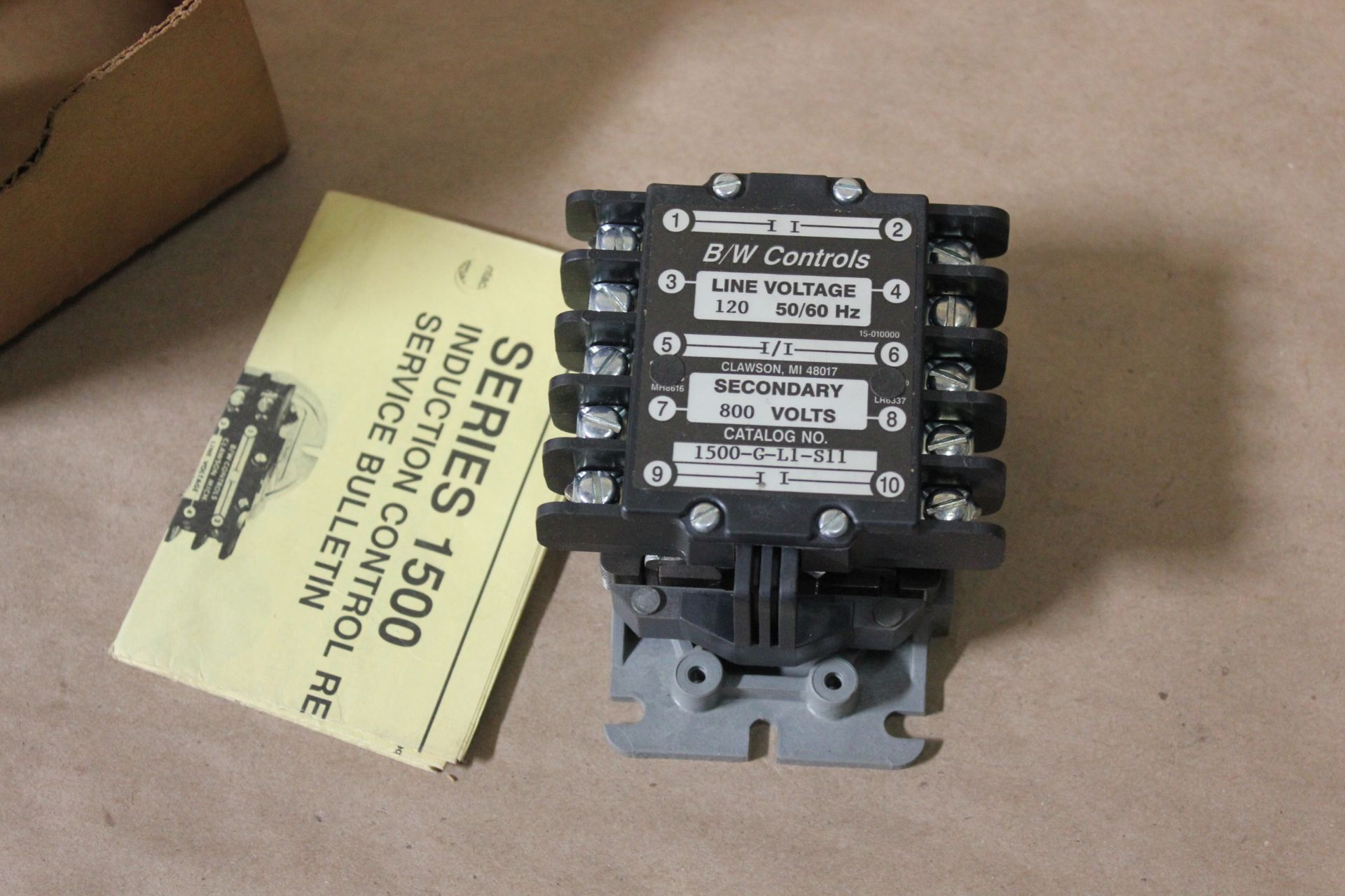 NEW B/W CONTROLS LIQUID LEVEL CONTROL - Image 3 of 3