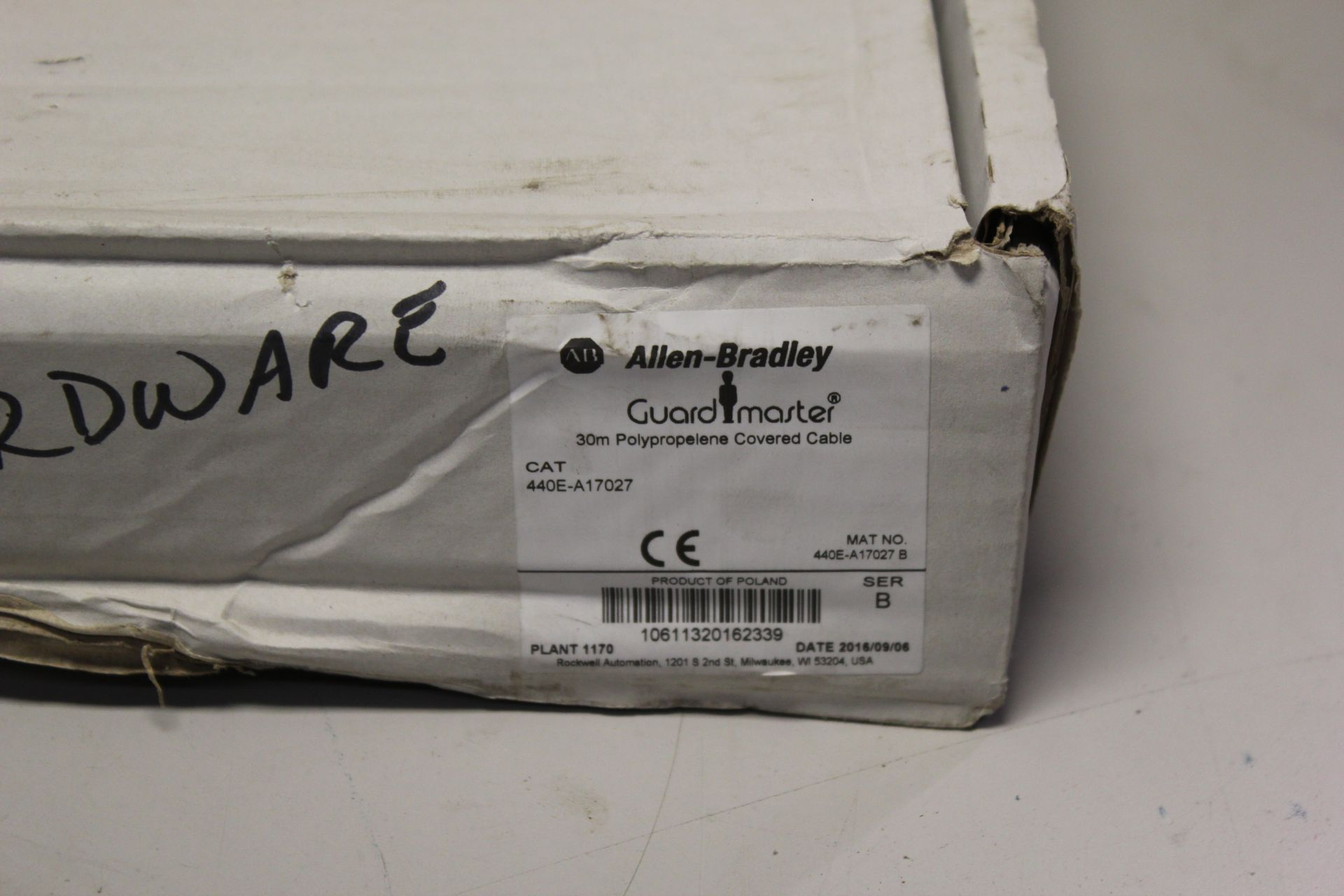 30M NEW ALLEN BRADLEY POLYPROPELENE COVERED CABLE - Image 2 of 3