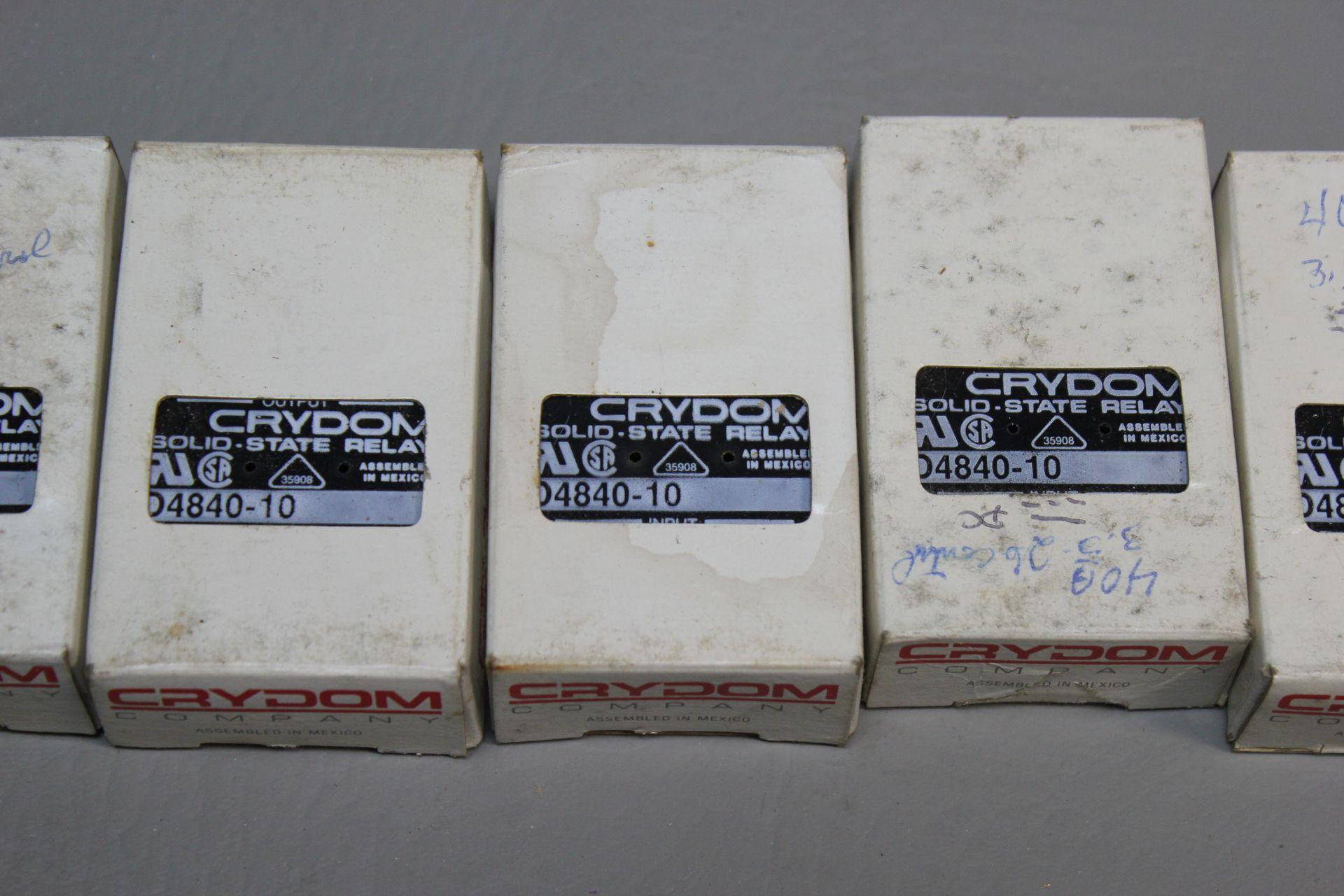 LOT OF NEW CRYDOM SOLID STATE RELAYS - Image 2 of 2