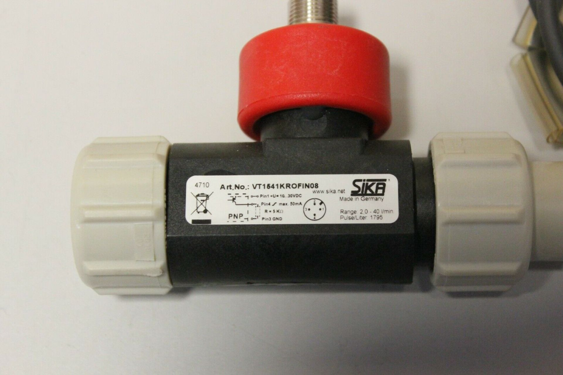 SIKA TURBINE FLOW SENSOR WITH CABLE - Image 2 of 7