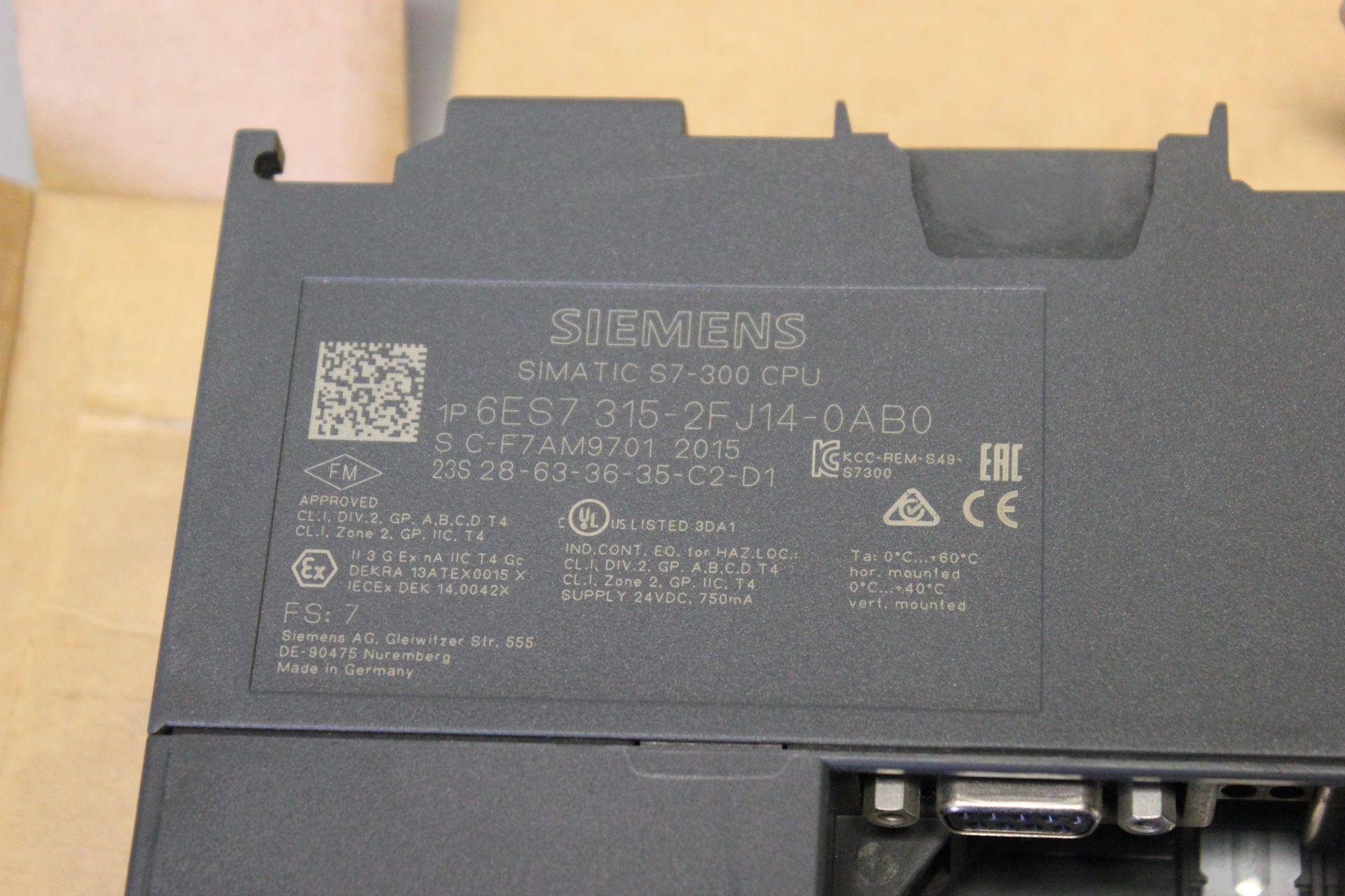NEW SIEMENS SIMATIC S7-300 PLC CPU PROCESSOR - Image 7 of 7