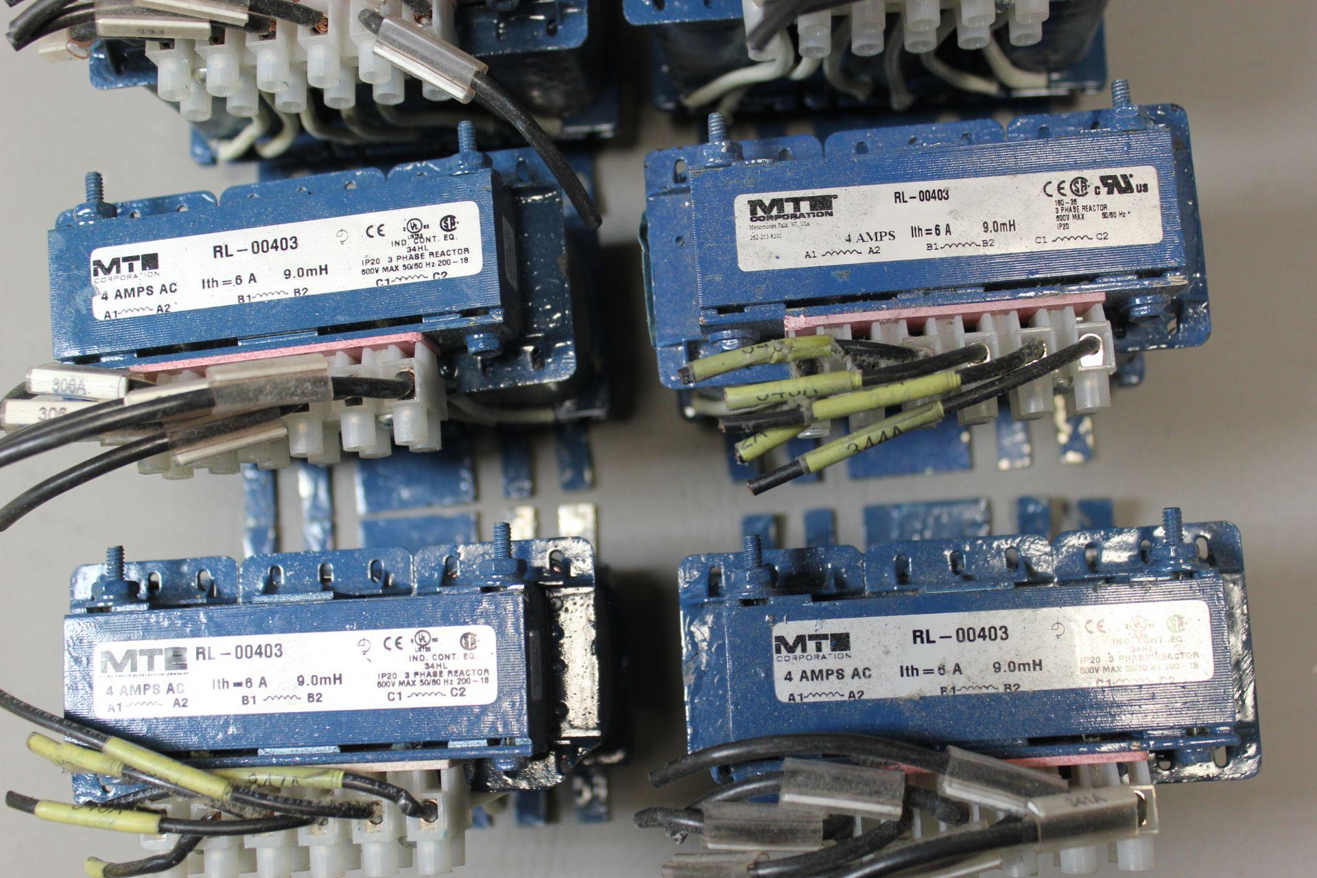 LOT OF MTE LINE REACTORS - Image 2 of 3