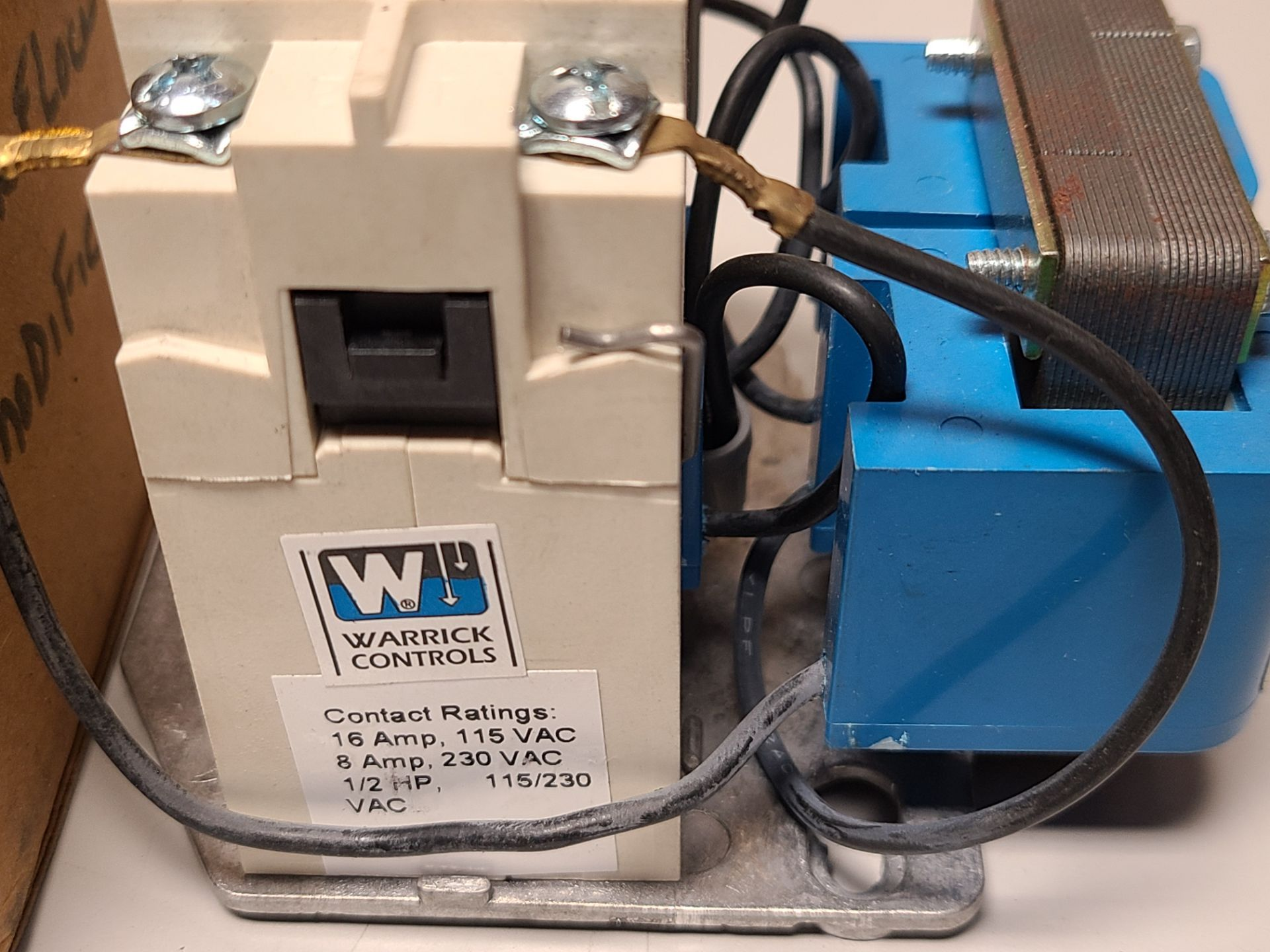 NEW WARRICK/GEMS CONTROL RELAY - Image 2 of 5