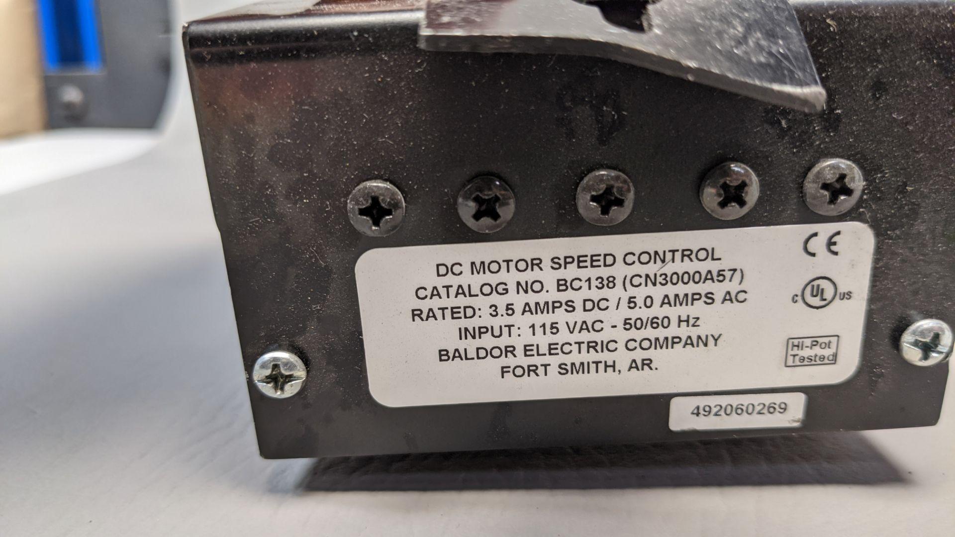 BALDOR DC DRIVE MOTOR SPEED CONTROLLER - Image 3 of 3