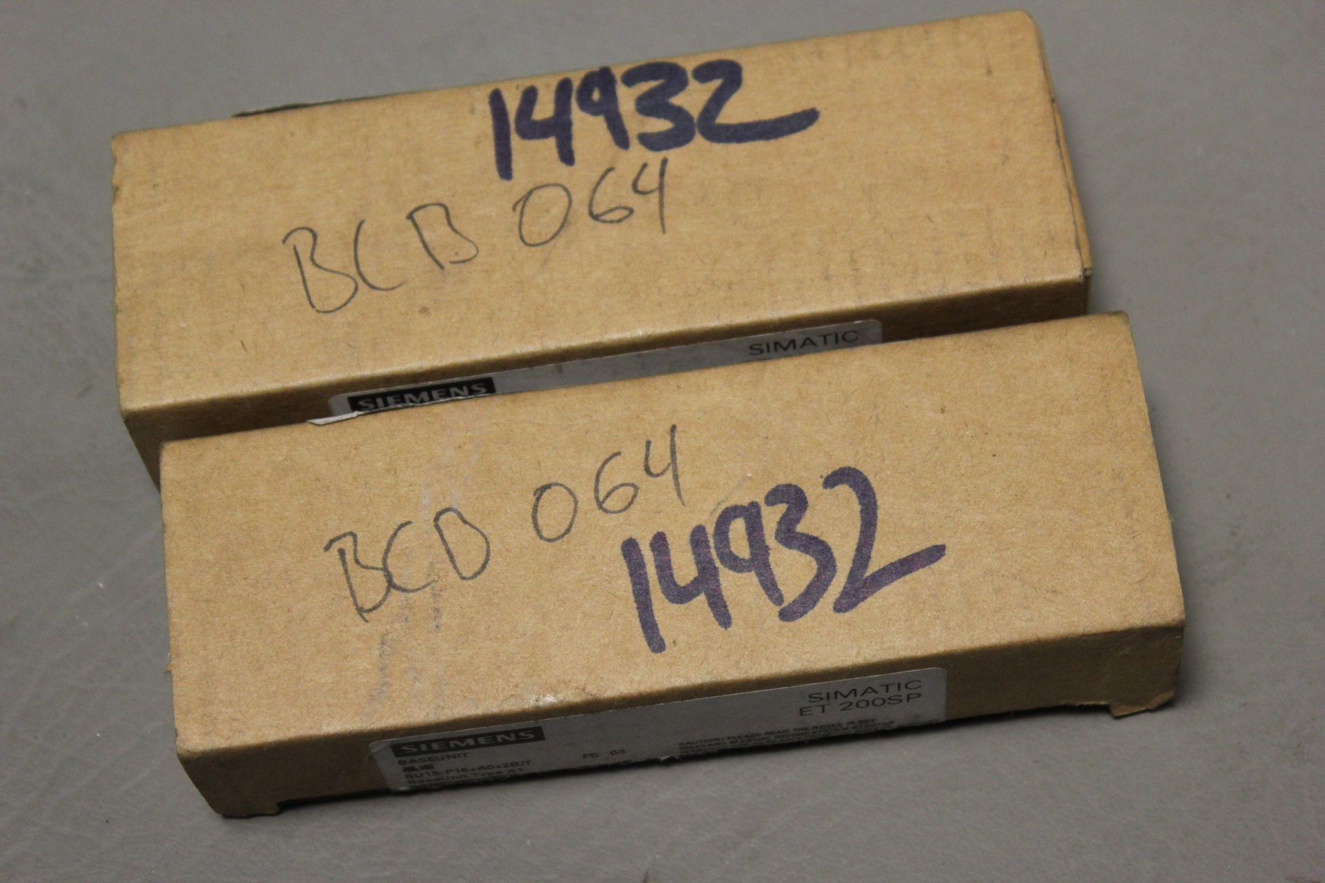 LOT OF NEW SIEMENS PLC BASE UNITS - Image 4 of 5