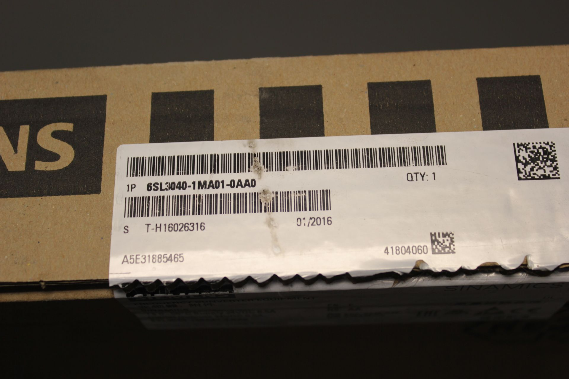 NEW SIEMENS SINAMICS FREQUENCY CONVERTER CONTROL UNIT - Image 2 of 6