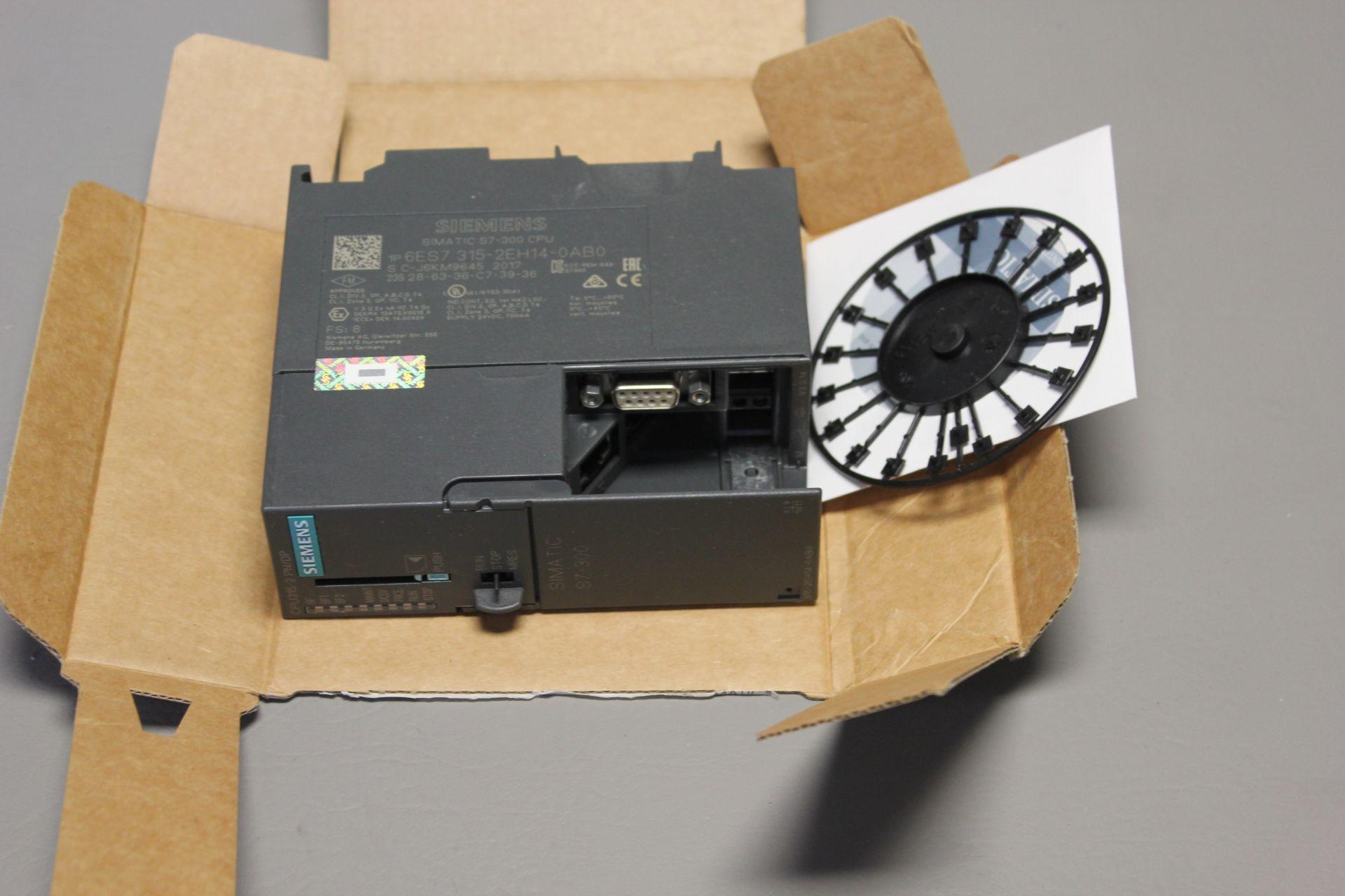 NEW SIEMENS SIMATIC S7-300 PLC CPU PROCESSOR - Image 5 of 7