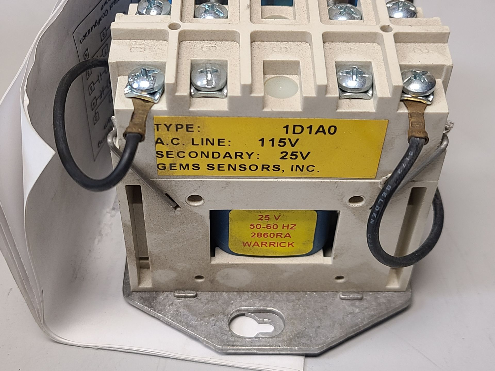 NEW WARRICK/GEMS CONTROL RELAY - Image 4 of 4