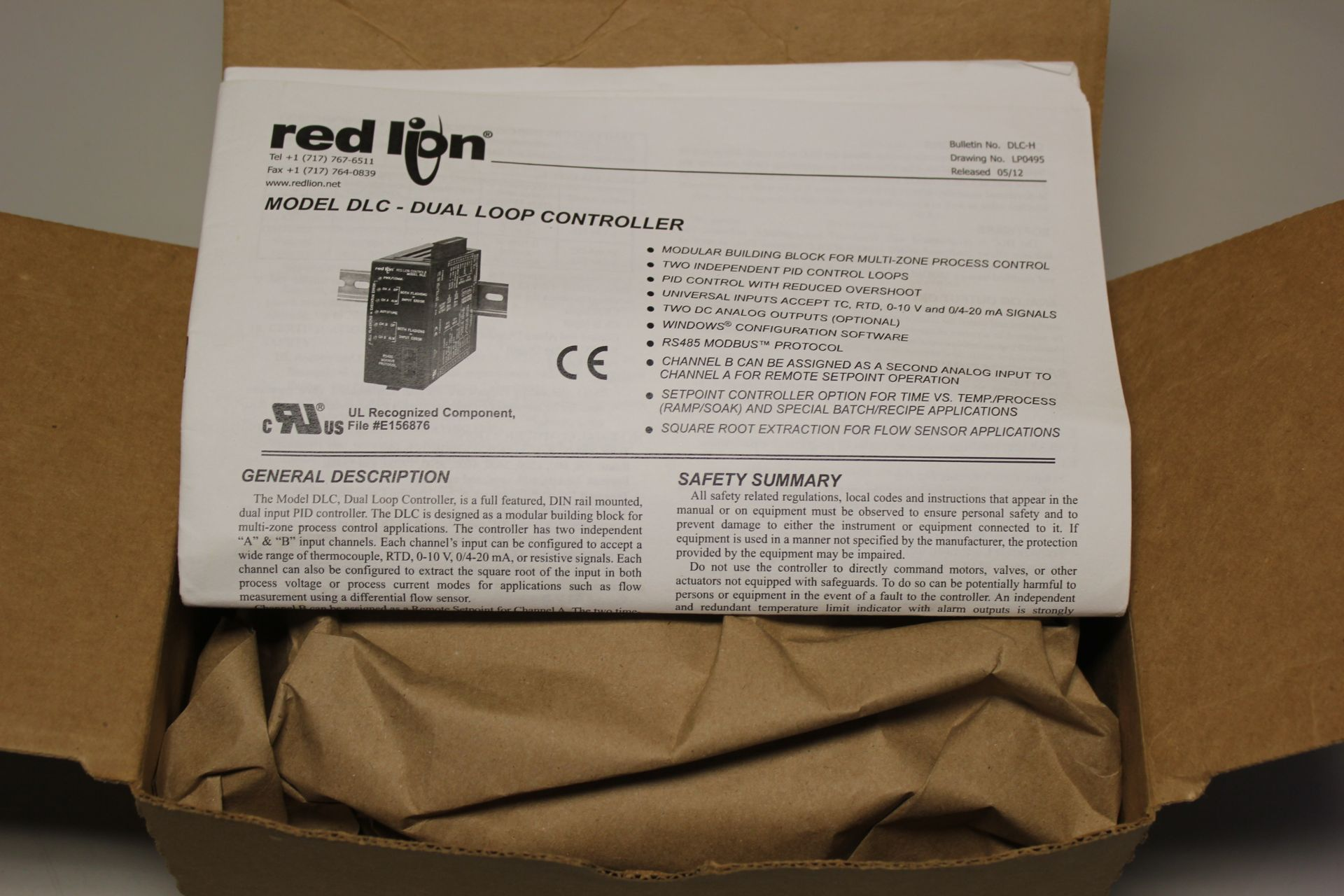 NEW RED LION DUAL LOOP PID CONTROLLER - Image 3 of 8