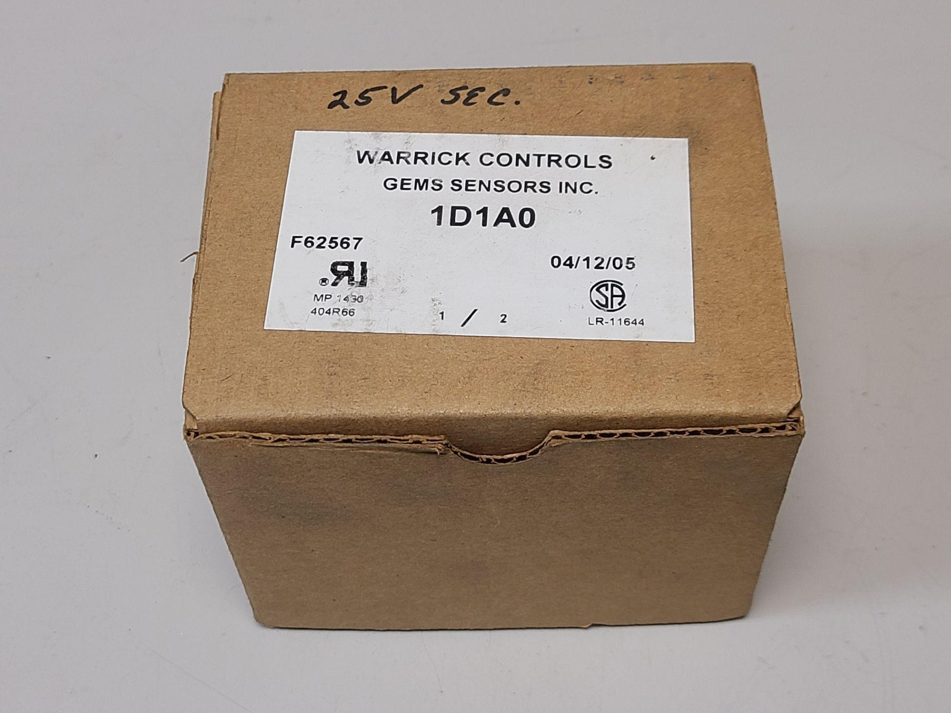 NEW WARRICK/GEMS CONTROL RELAY