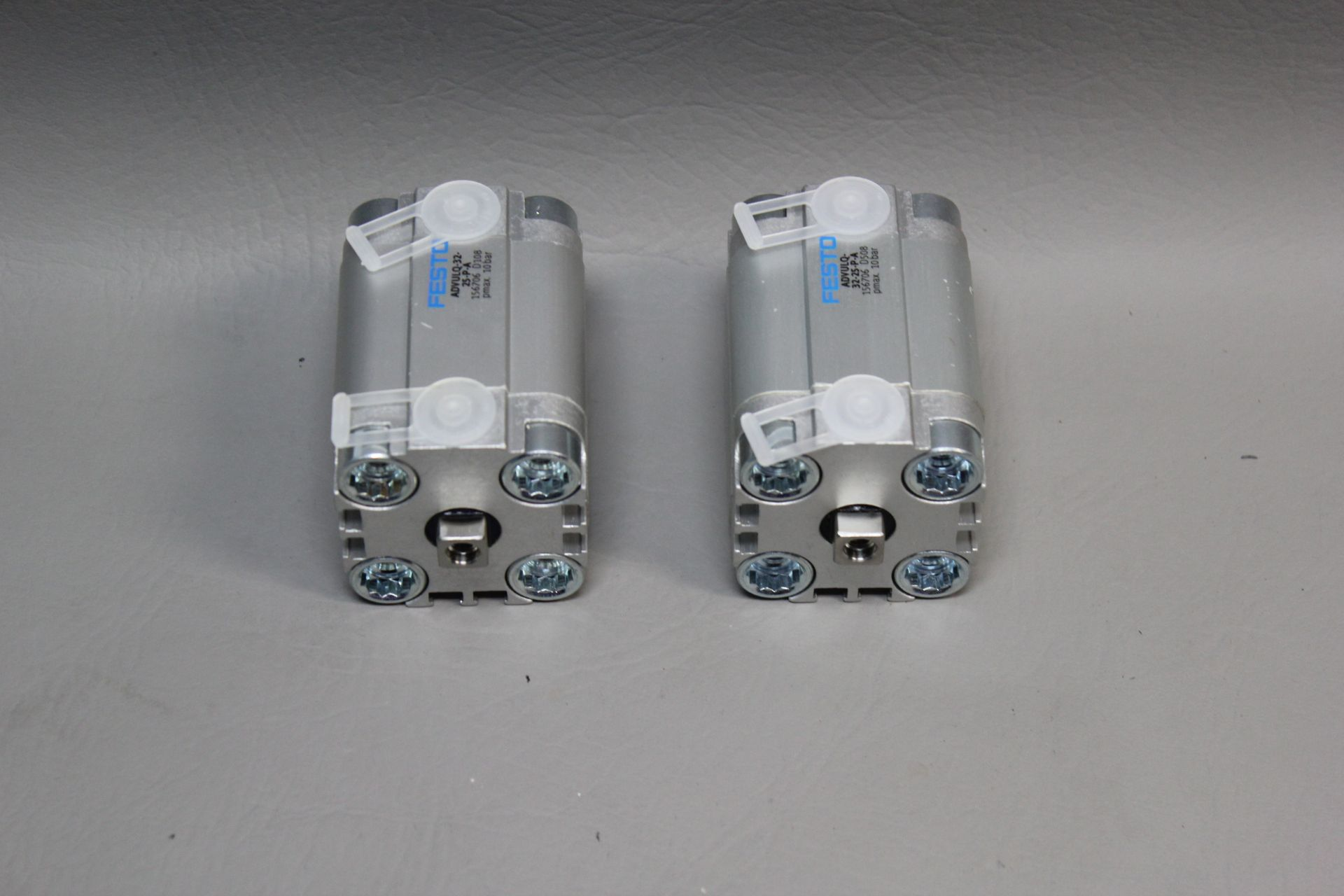 LOT OF 2 NEW FESTO PNEUMATIC CYLINDERS