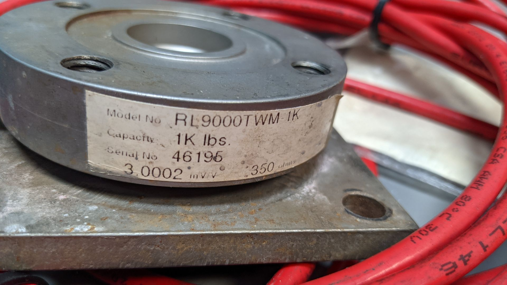 LOT OF RICE LAKE LOAD CELLS - Image 5 of 8