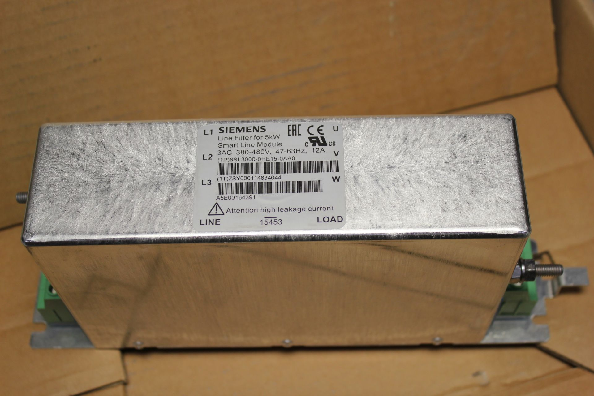 NEW SIEMENS LINE FILTER FOR SMART LINE MODULE - Image 5 of 5