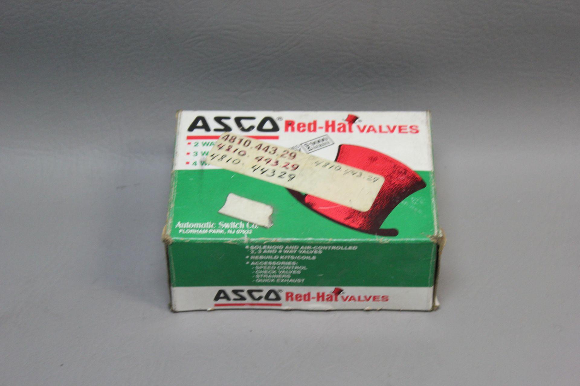 NEW ASCO RED HAT VALVE REBUILD KIT