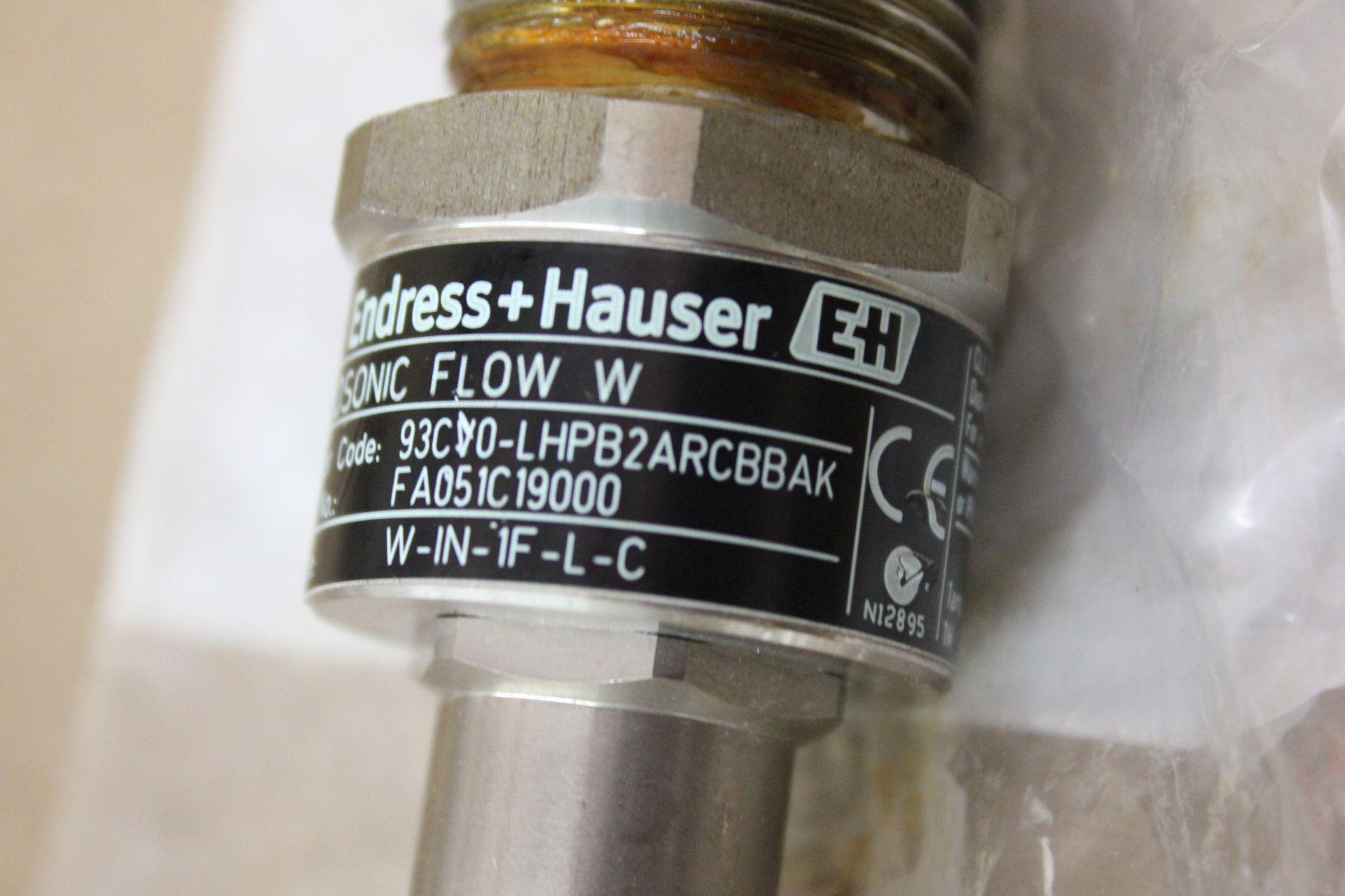 NEW ENDRESS HAUSER ULTRASONIC FLOW SENSOR - Image 6 of 6
