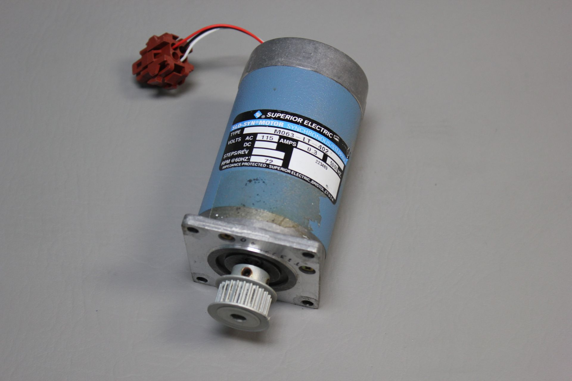 SUPERIOR ELECTRIC SLO-SYN STEPPER MOTOR