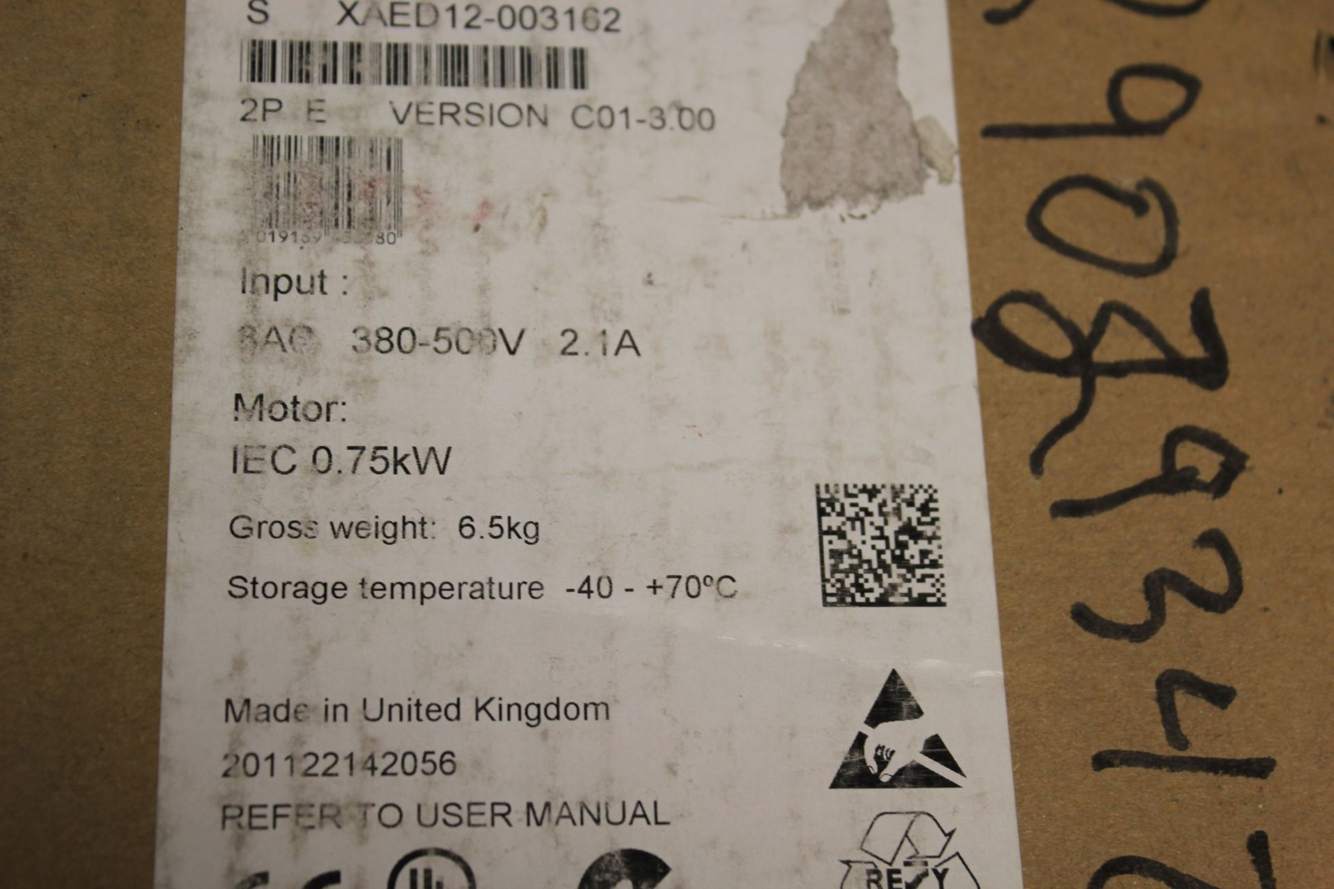 NEW SIEMENS SINAMICS G120D POWER MODULE - Image 8 of 8