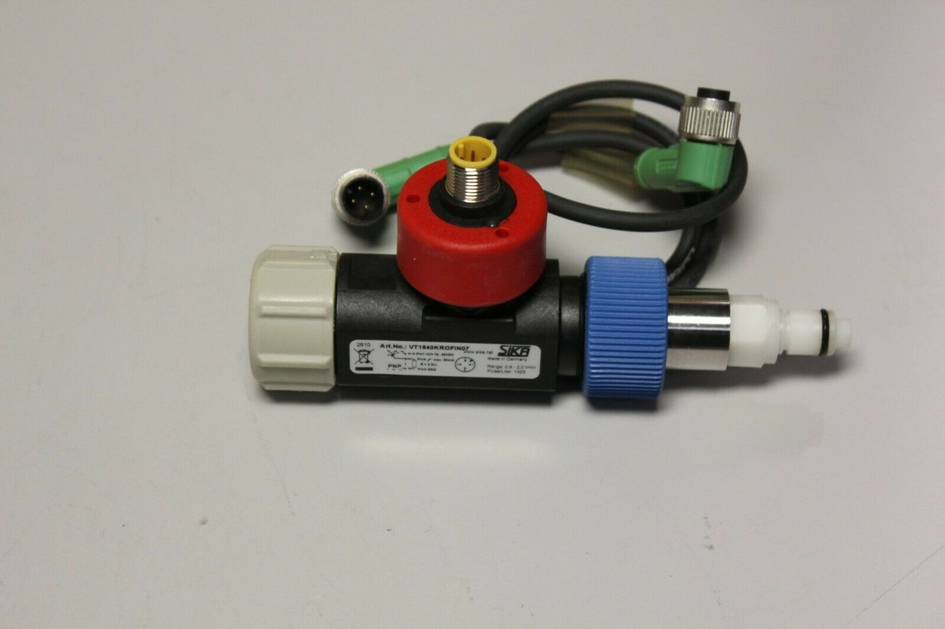 SIKA TURBINE FLOW SENSOR WITH CABLE - Image 4 of 10