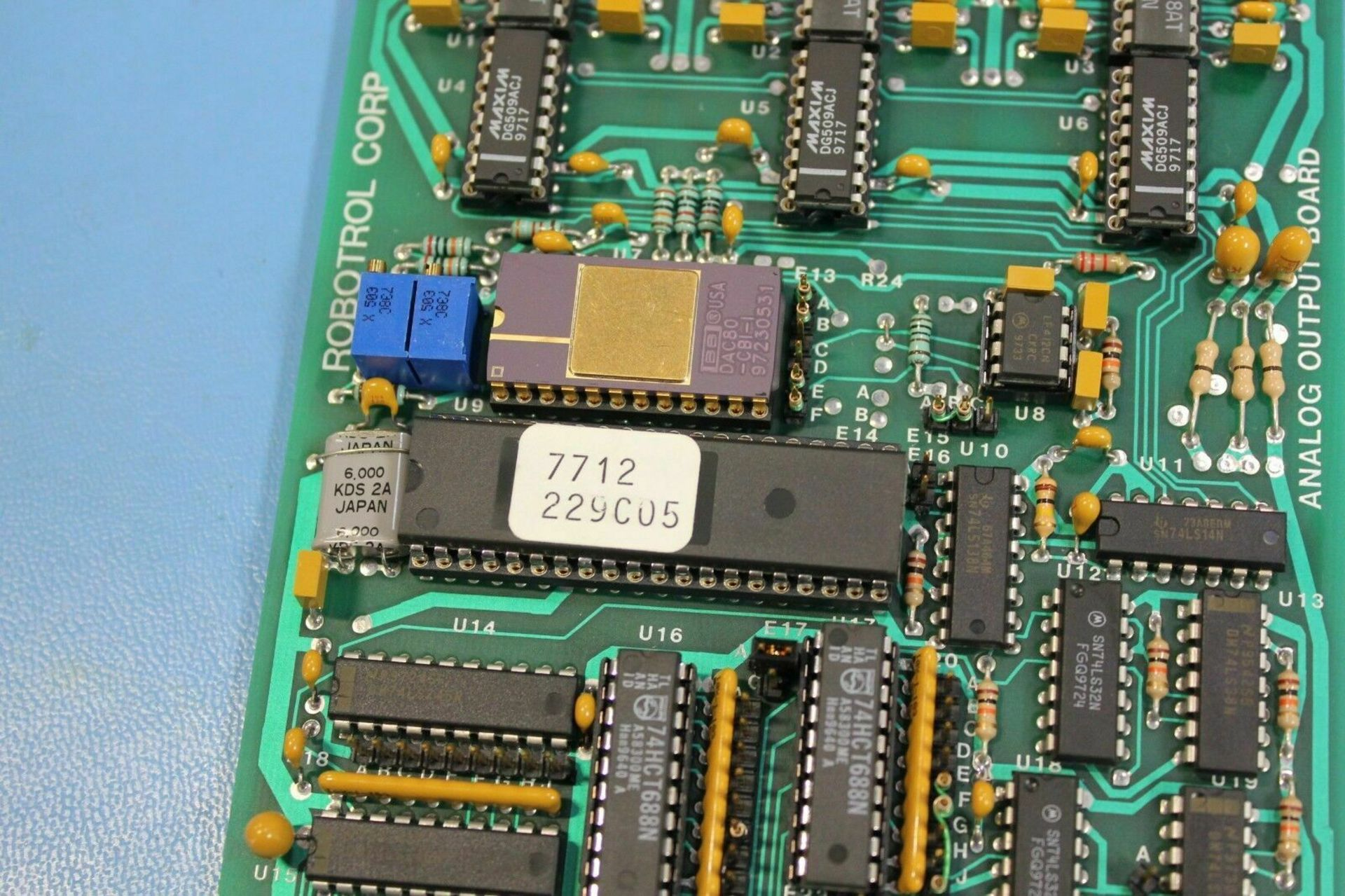 ROBOTROL STD BUS ANALOG OUTPUT MODULE - Image 5 of 5