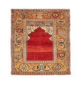 A 'Transylvanian' prayer rug, Anatolia, 18th or possibly 17th century