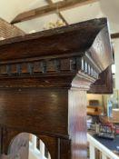 A George III oak dresser