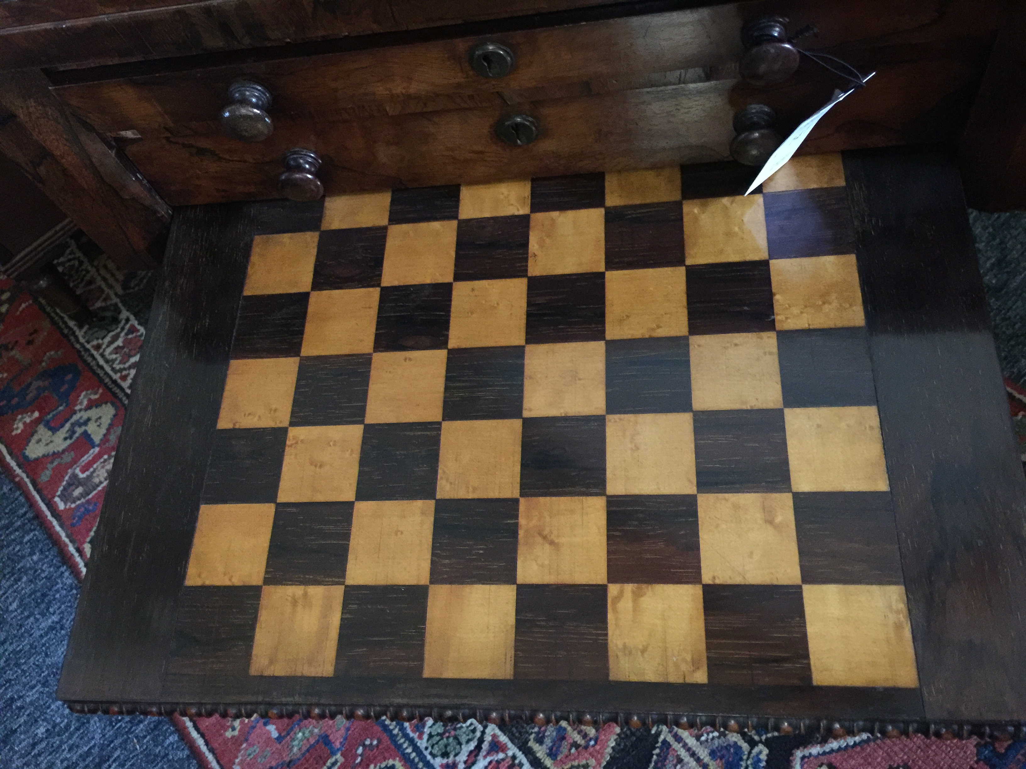 A Regency rosewood games table - Image 3 of 13