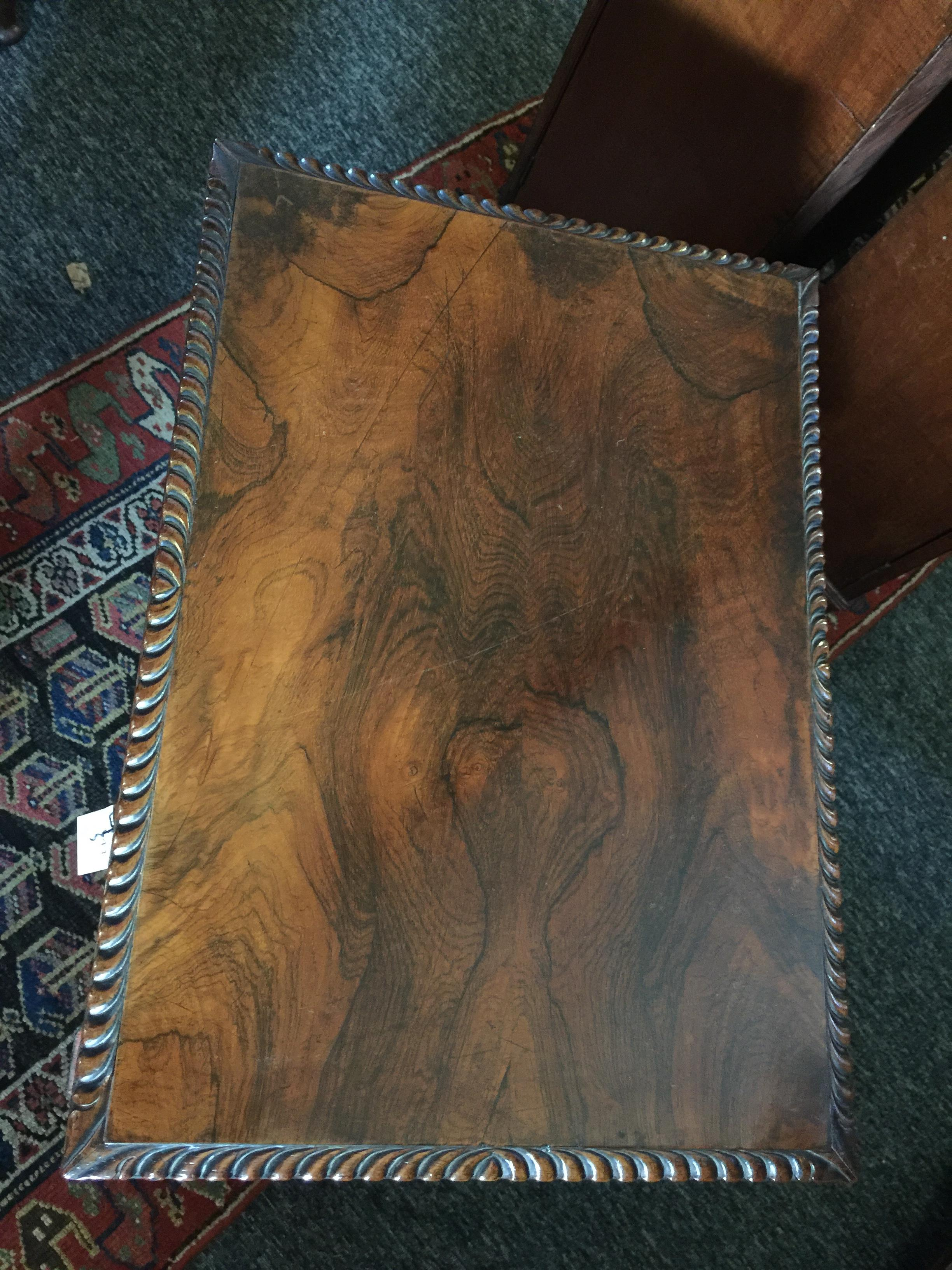 A Regency rosewood games table - Image 11 of 13